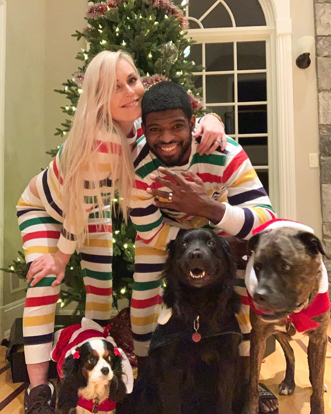 Lindsey Vonn Proposes to Fiancé on Christmas