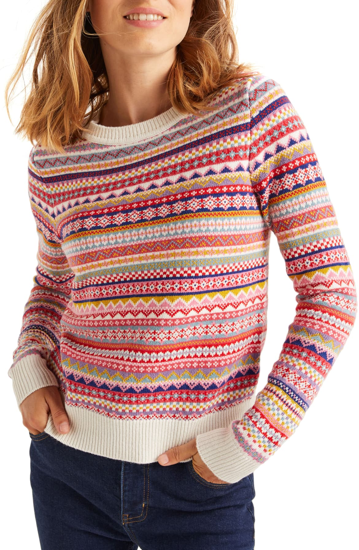 boden colorful striped sweater nordstrom