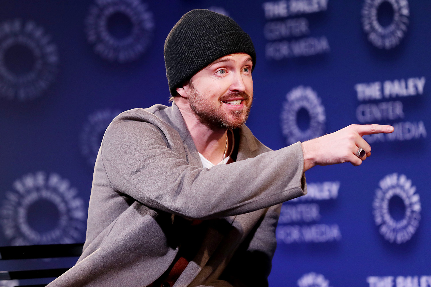 """Aaron Paul PaleyLive NY: Apple's """"Truth be Told: Exclusive Screening, New York, USA - 12 Dec 2019"""