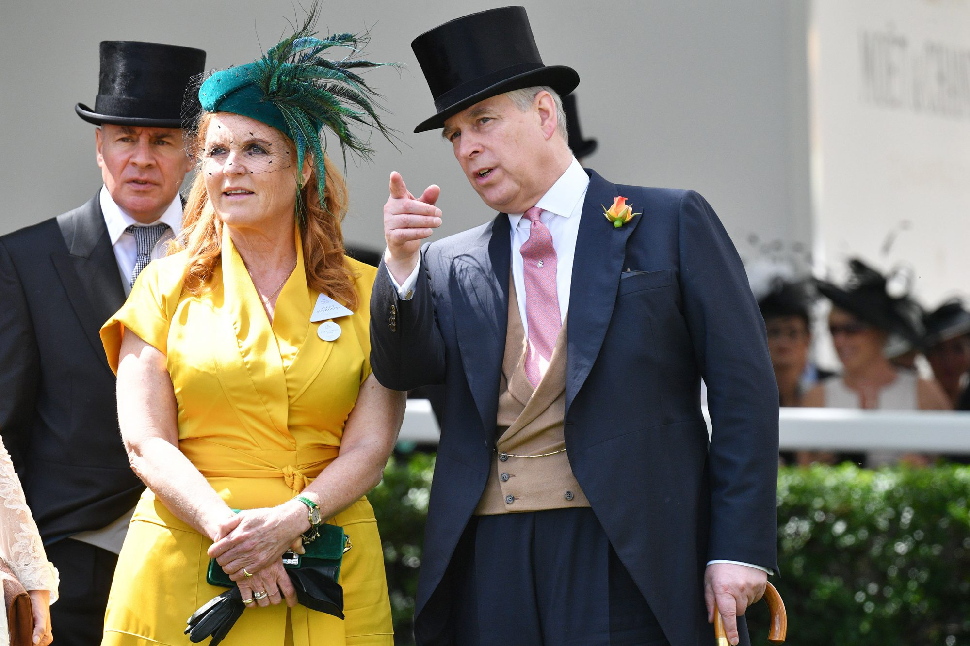 Sarah, Duchess of York and The Duke of York Royal Ascot Prince Andrew