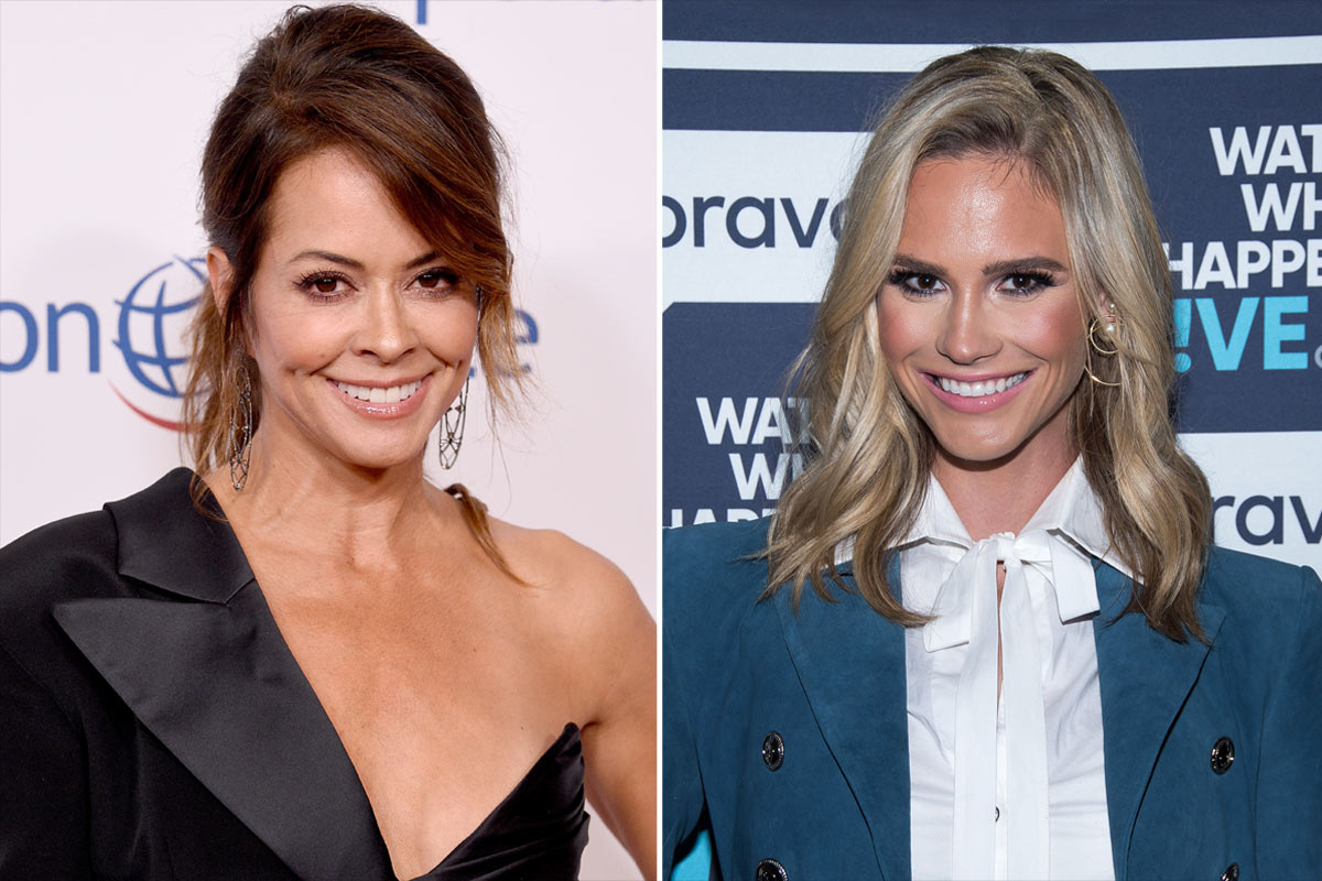Brooke Burke, Meghan King Edmonds