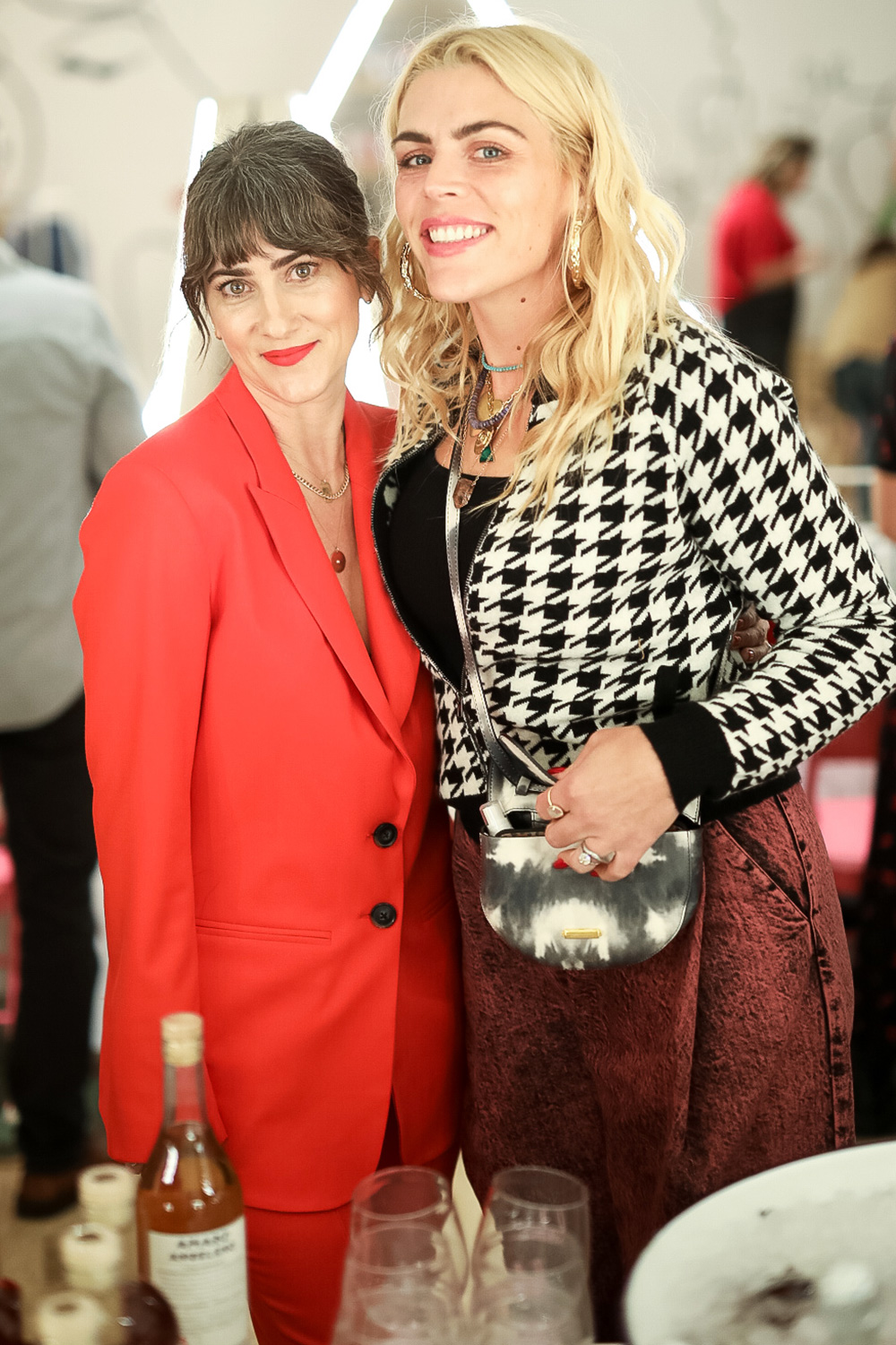 Jenn Streicher, Busy Phillips attend The Streicher Sisters and PLUS Products: Celebrate STRIIIKE Holiday Market STRIIIKE, Beverly Hills, CA December 12, 2019