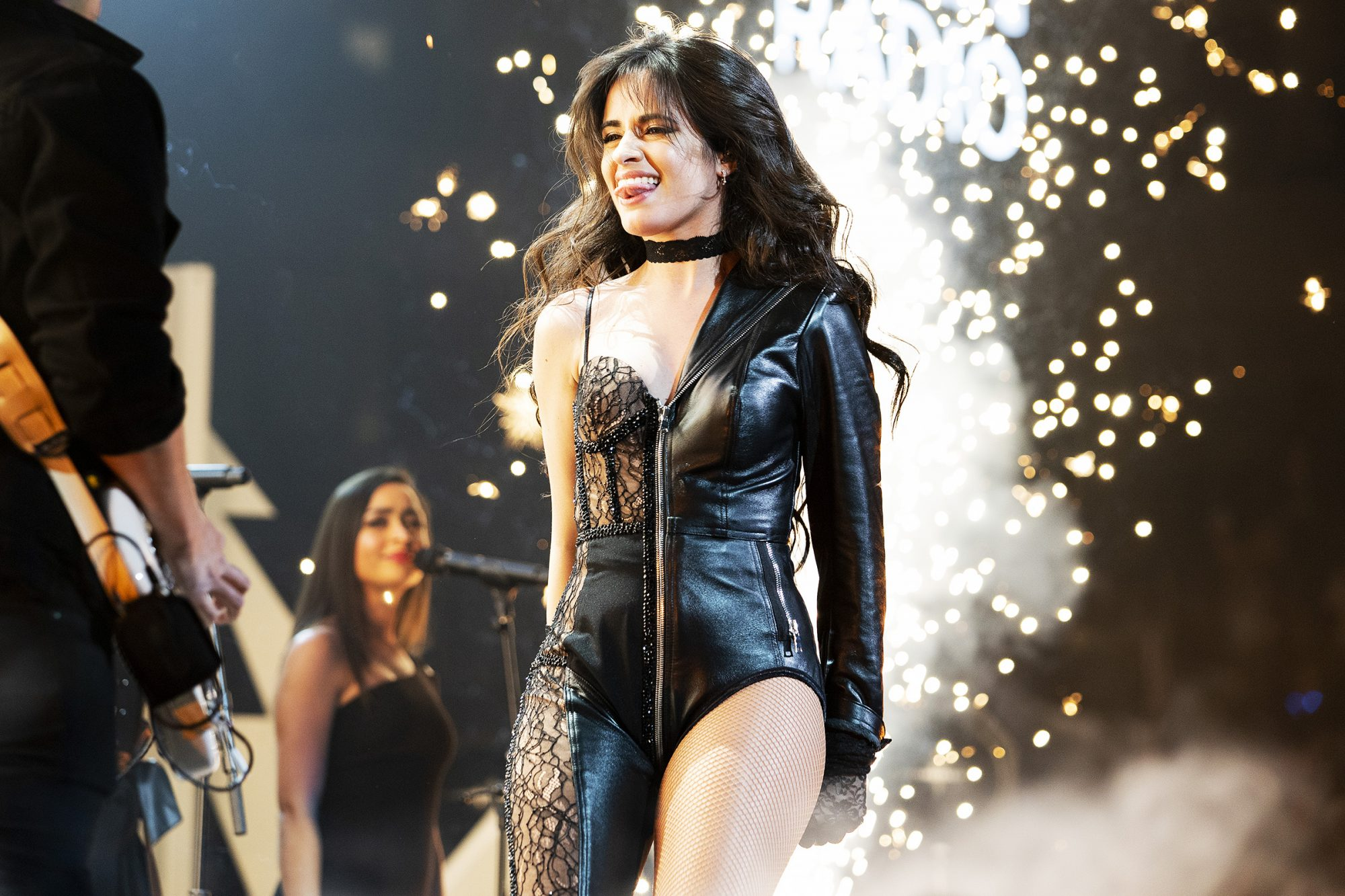 Camila Cabello performs during 106.1 KISS FM's Jingle Ball 2019 at Dickies Arena on December 03, 2019