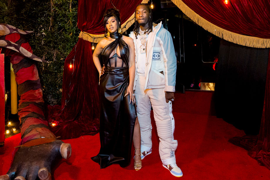 Cardi B and Offset birthday