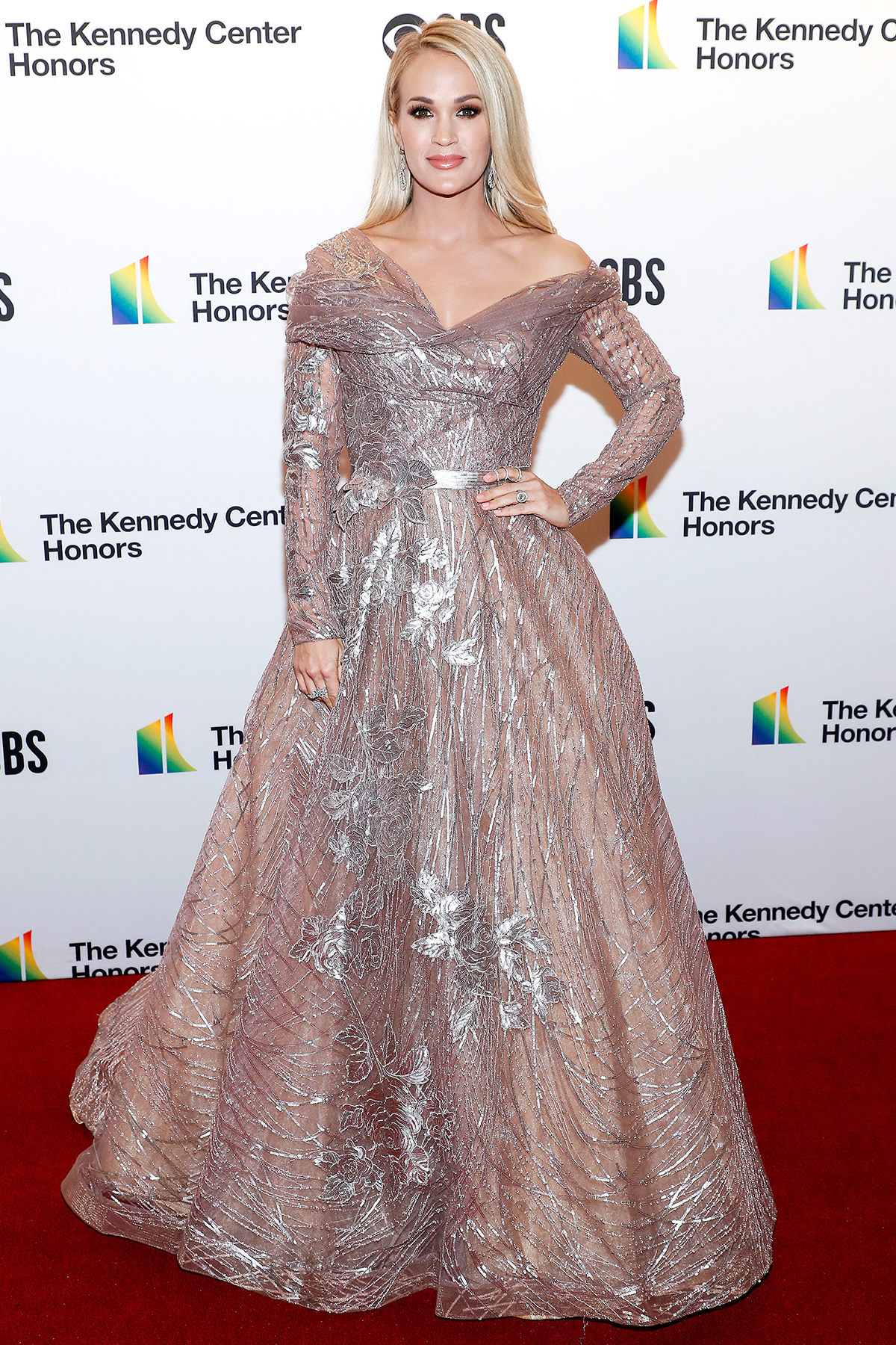 Carrie Underwood attends the 42nd Annual Kennedy Center Honors Kennedy Center on December 08, 2019 in Washington, DC.
