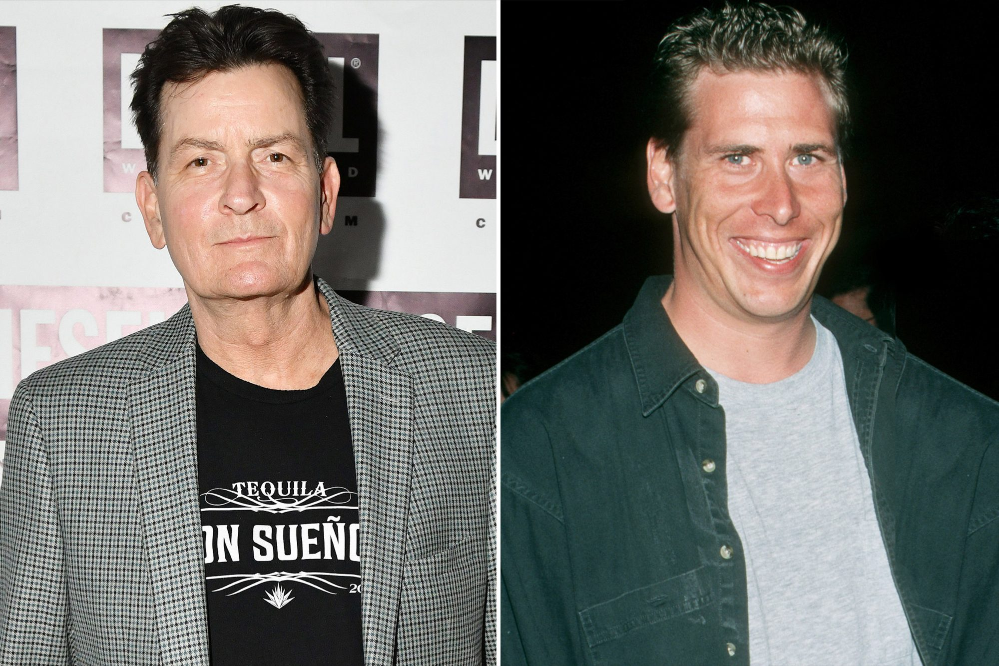 Philip McKeon, Charlie Sheen