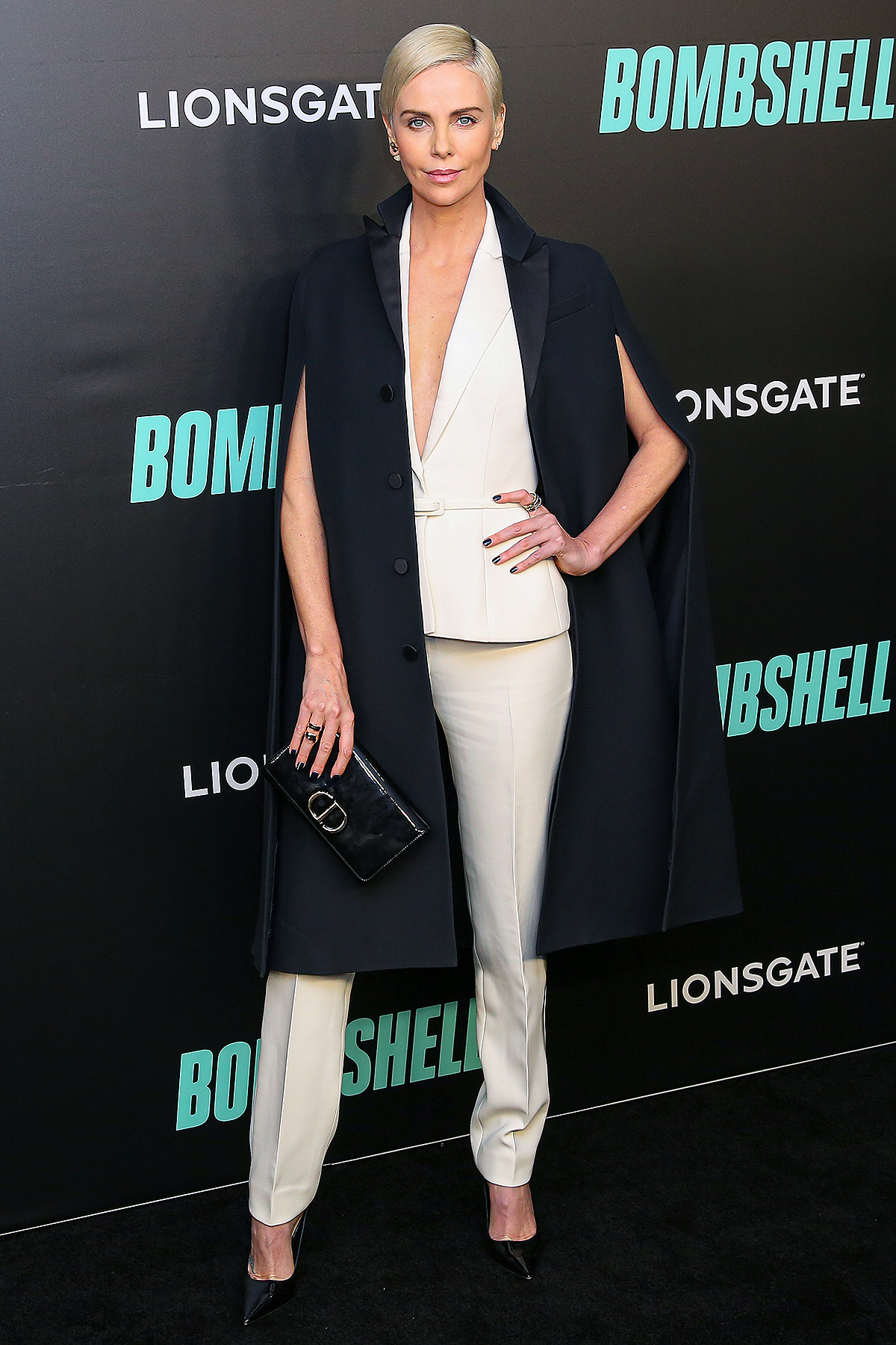 """US/South African actress Charlize Theron attends the """"Bombshell"""" New York Screening at Jazz at Lincoln Center on December 16, 2019 i"""