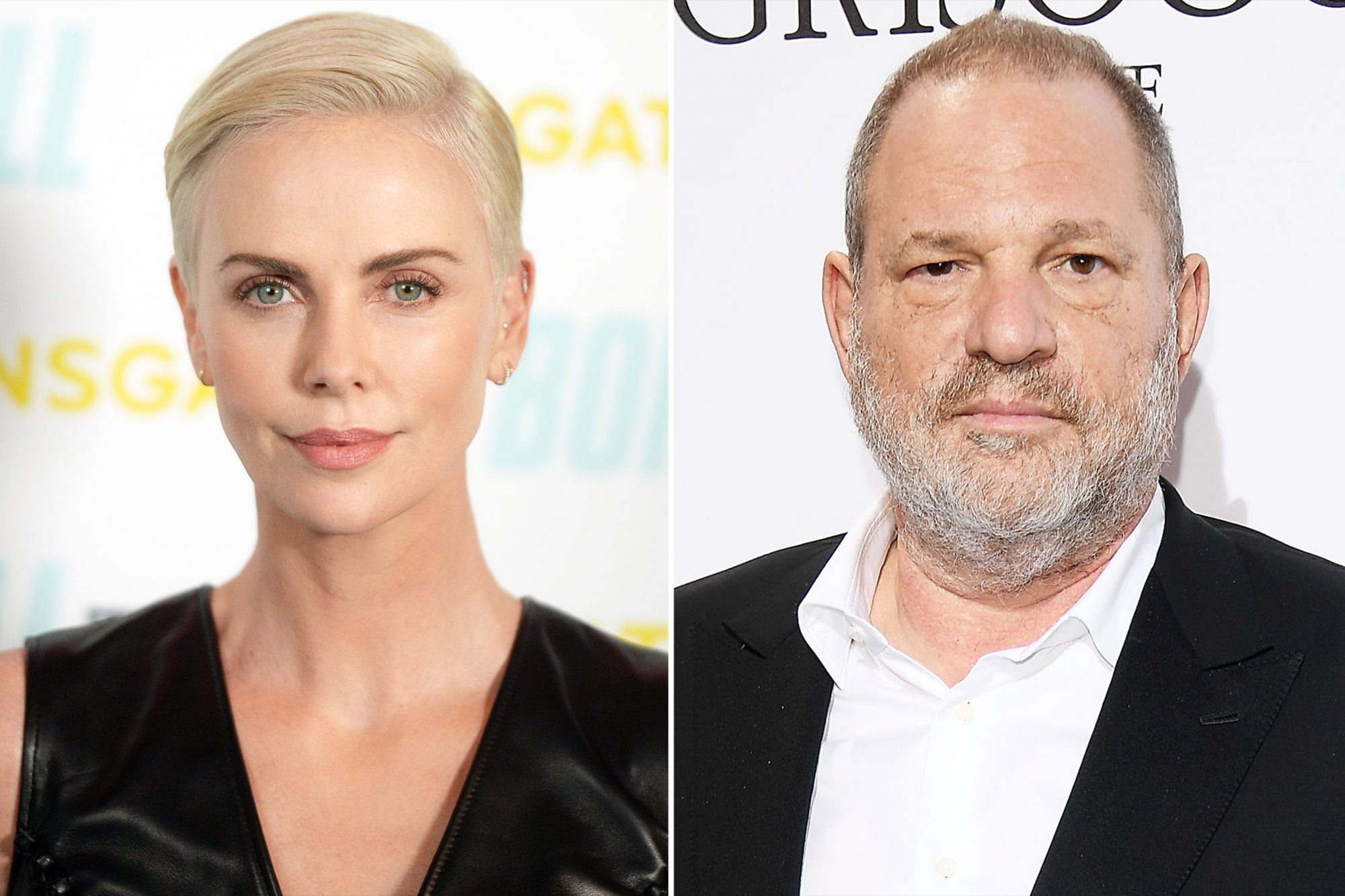 Charlize Theron Harvey Weinstein