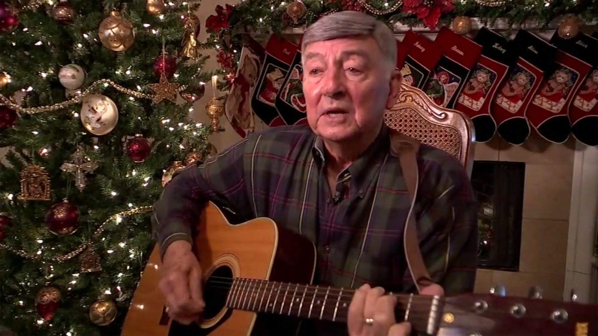 """Johnny Gondesen of Cypress wanted to get his song called """"Christmas Is Here"""" on the radio, and as of Wednesday morning, it happened."""