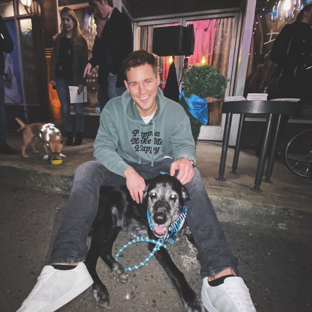 Former Bachelor Colton Underwood Says His Dog Helped Him with Depression and Anxiety