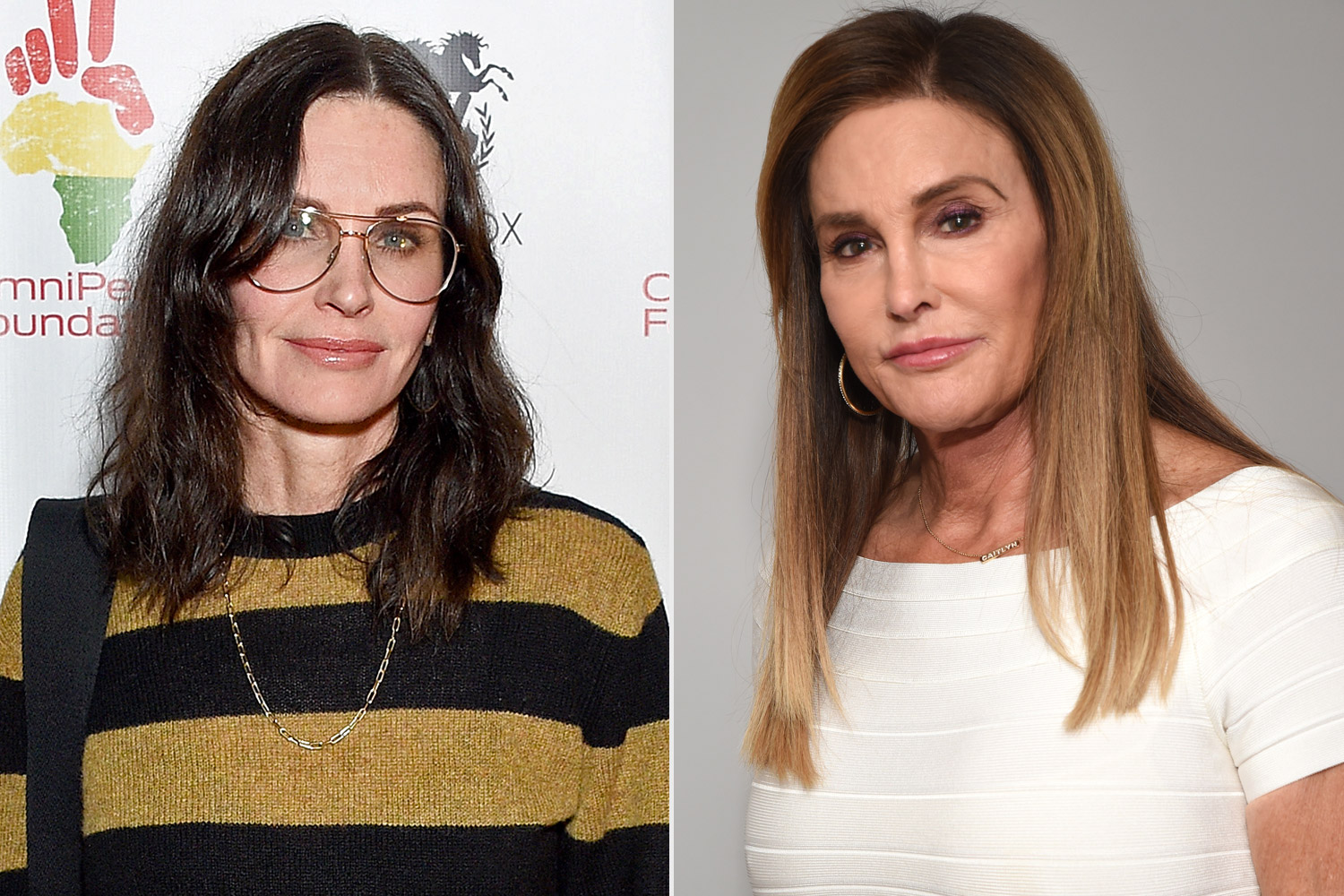 Courteney Cox; Caitlyn Jenner