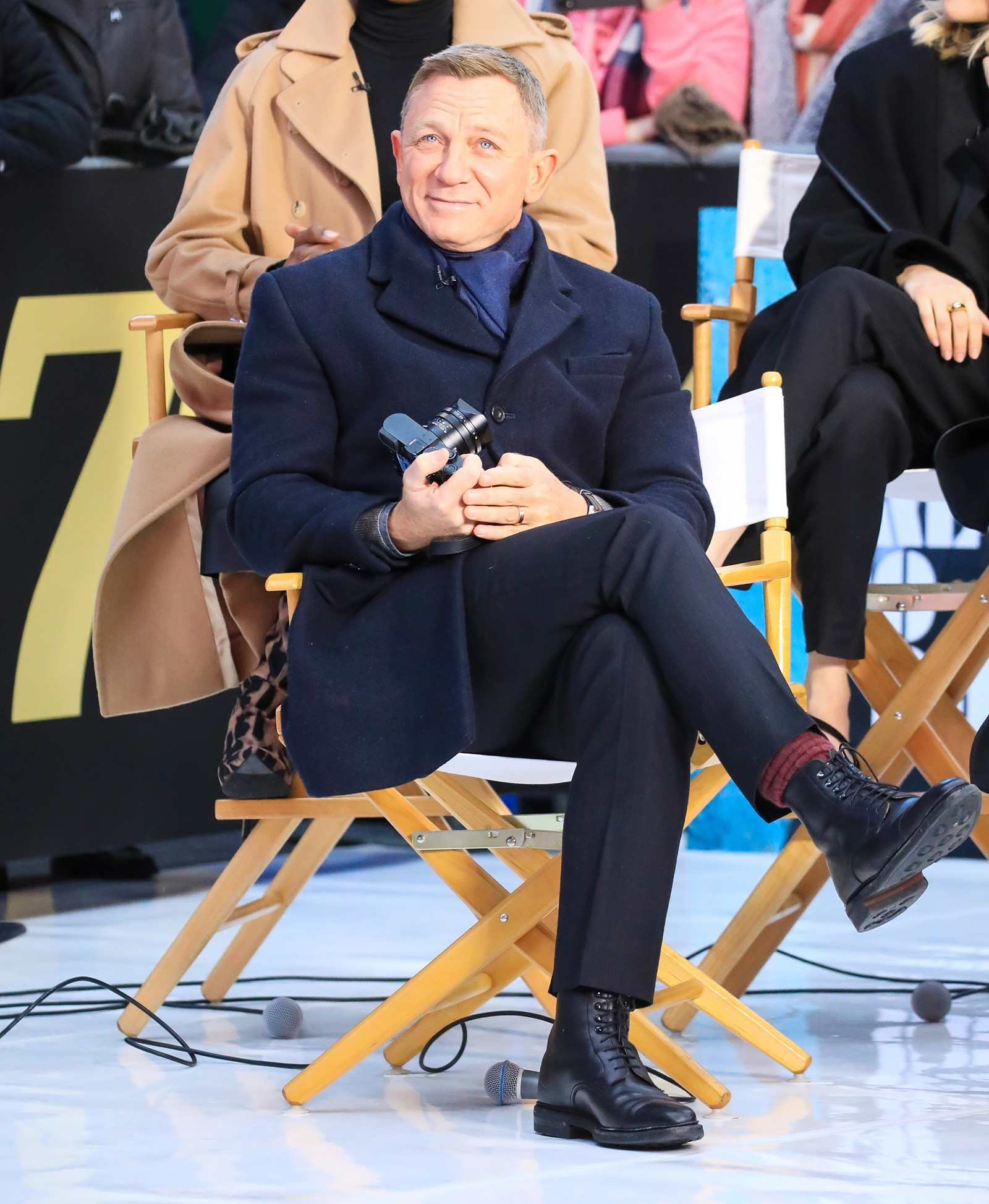 Daniel Craig of 'No Time To Die' stop by 'Good Morning America' in NYC.