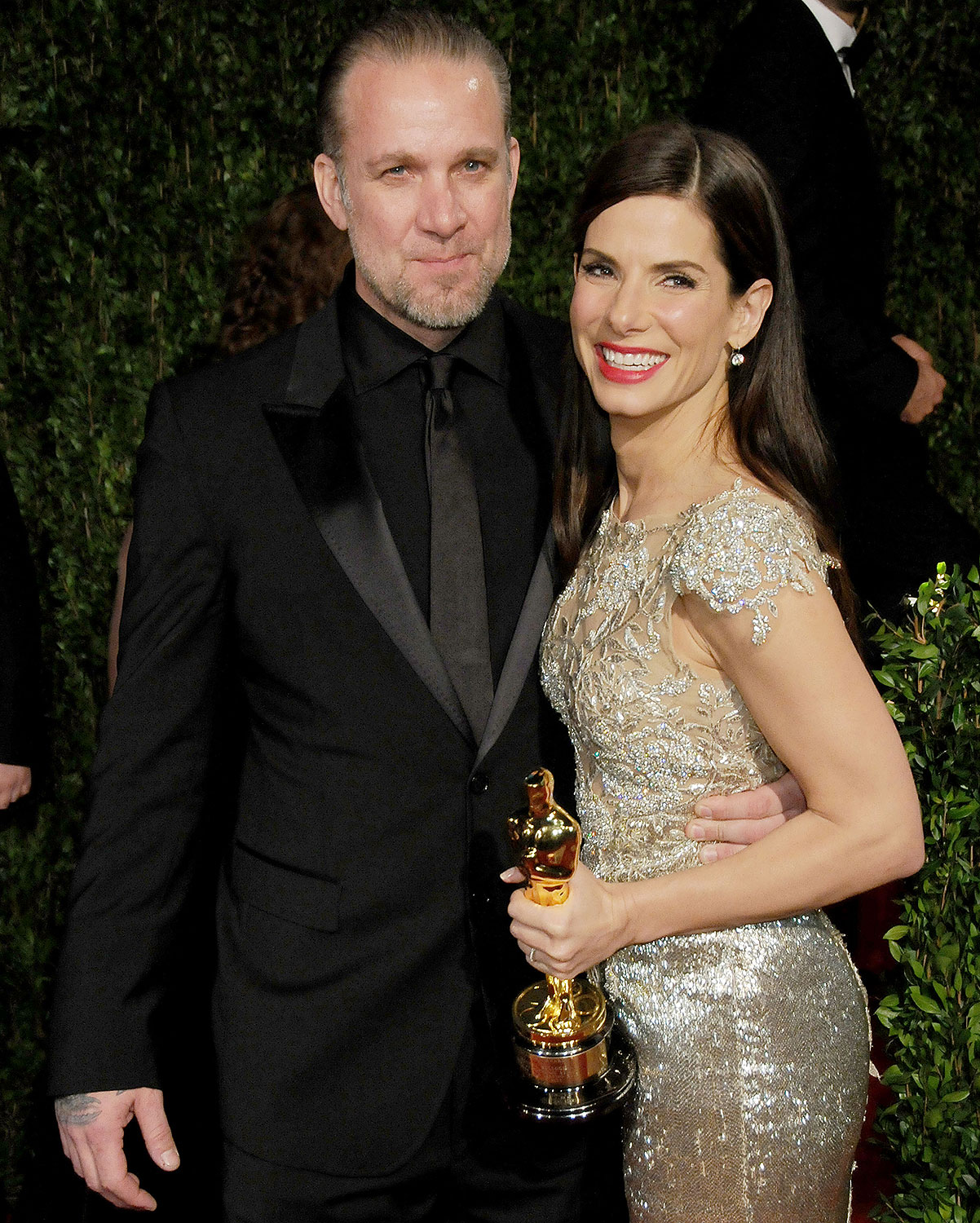 Sandra Bullock and Jesse James (2010)