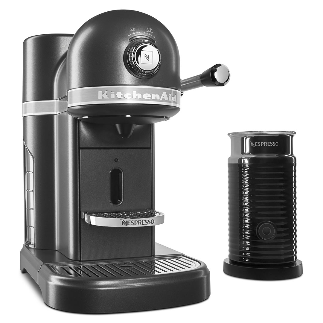 Cyber Monday Deals: Nespresso Espresso Maker by KitchenAid with Milk Frother in Slate