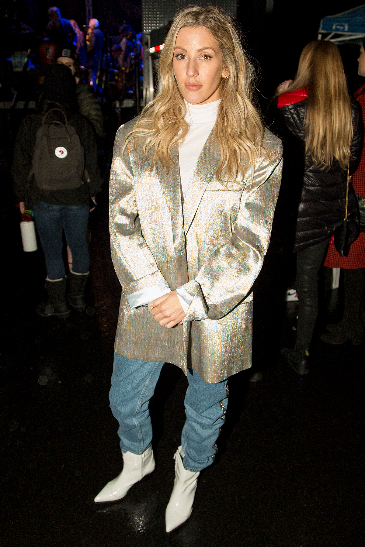 Ellie Goulding attends the World's Big Sleep Out At The Rose Bowl For Homelessness on December 07, 2019