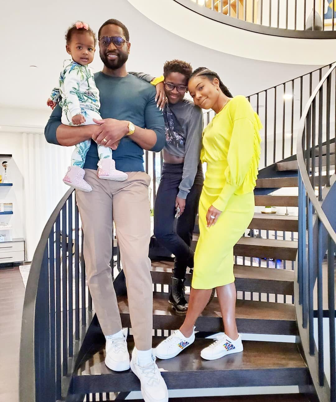 Union gabrielle wade and Dwyane Wade's
