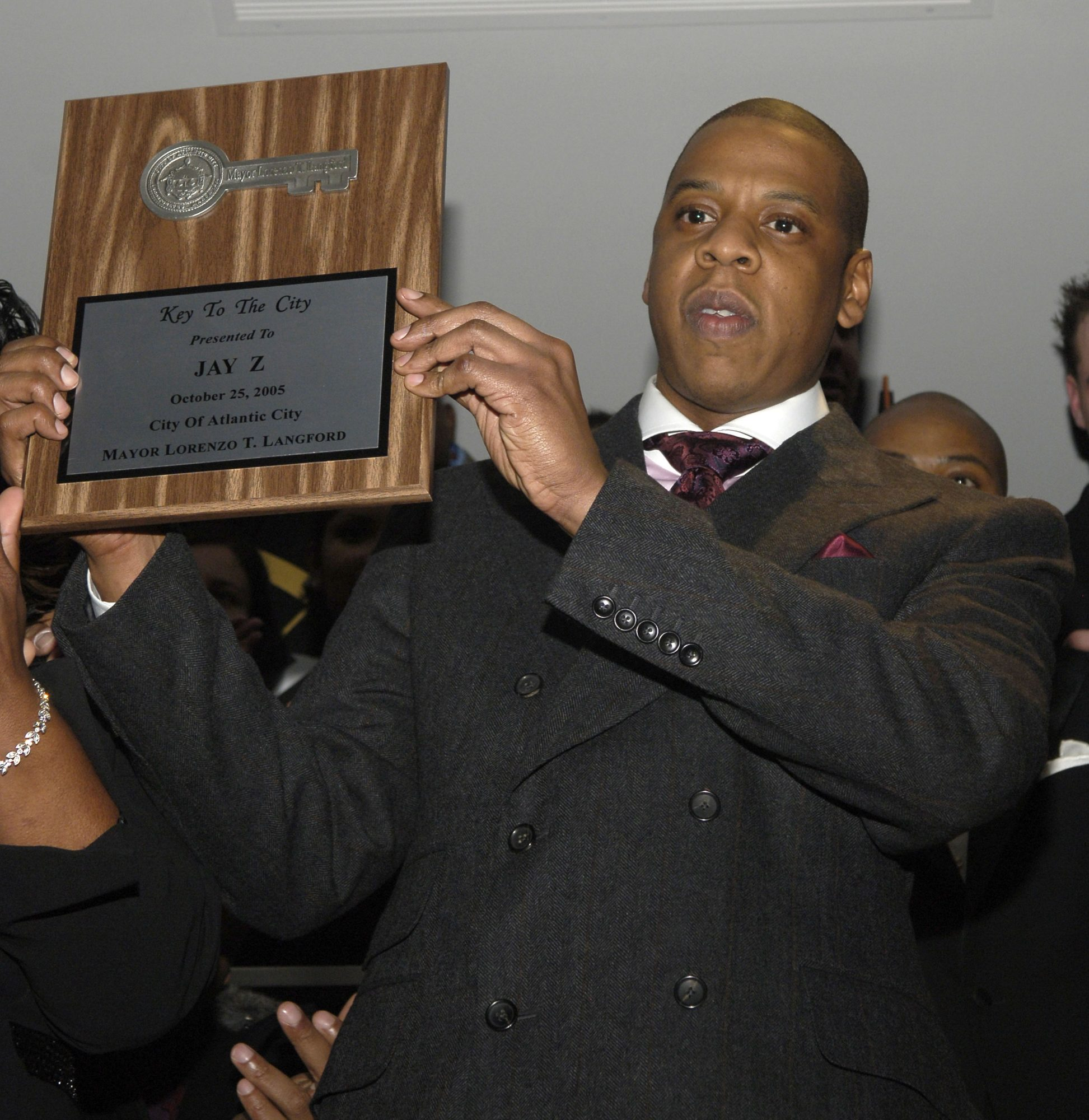 Jay-Z Celebrates The Grand Opening of The 40/40 Club in Atlantic City