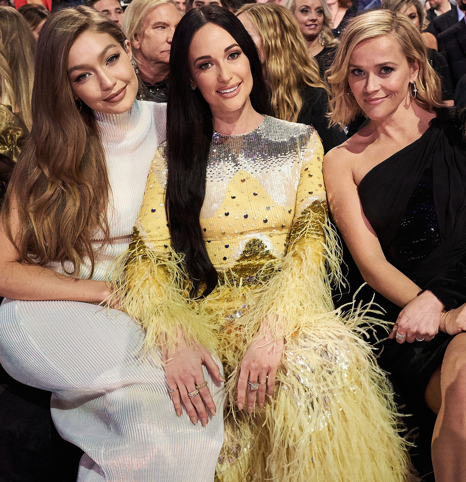 Gigi Hadid, Kacey Musgraves, Reese Witherspoon
