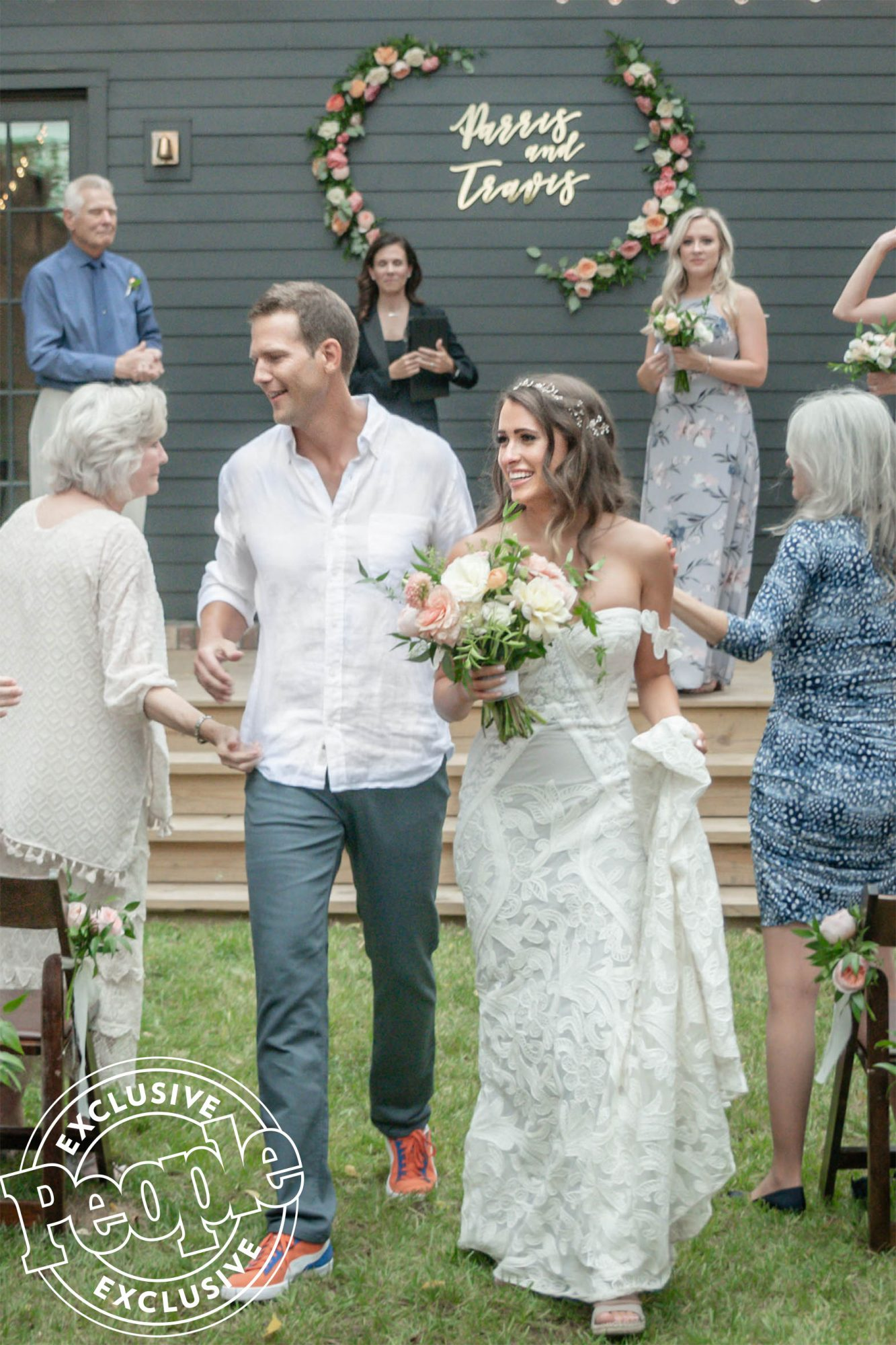 Travis Stork and Parris Bell wedding