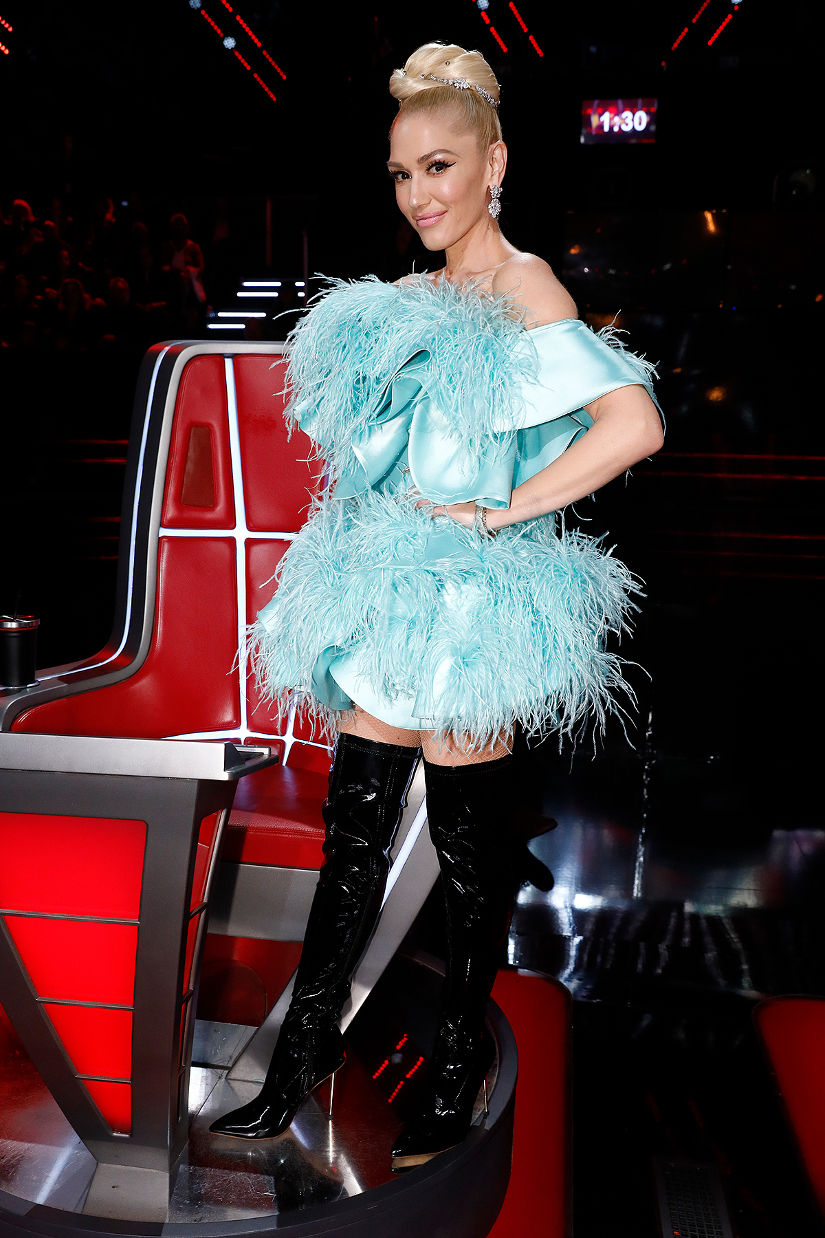 """THE VOICE -- """"Live Finale Results"""" Episode 1720B -- Pictured: Gwen Stefani"""