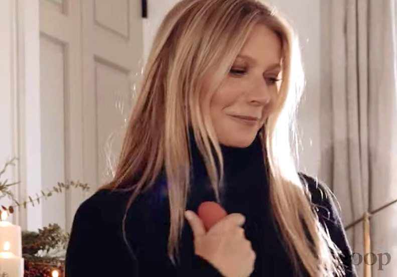 Gwyneth Paltrow Holds Vibrator in Cheeky Goop Commercial