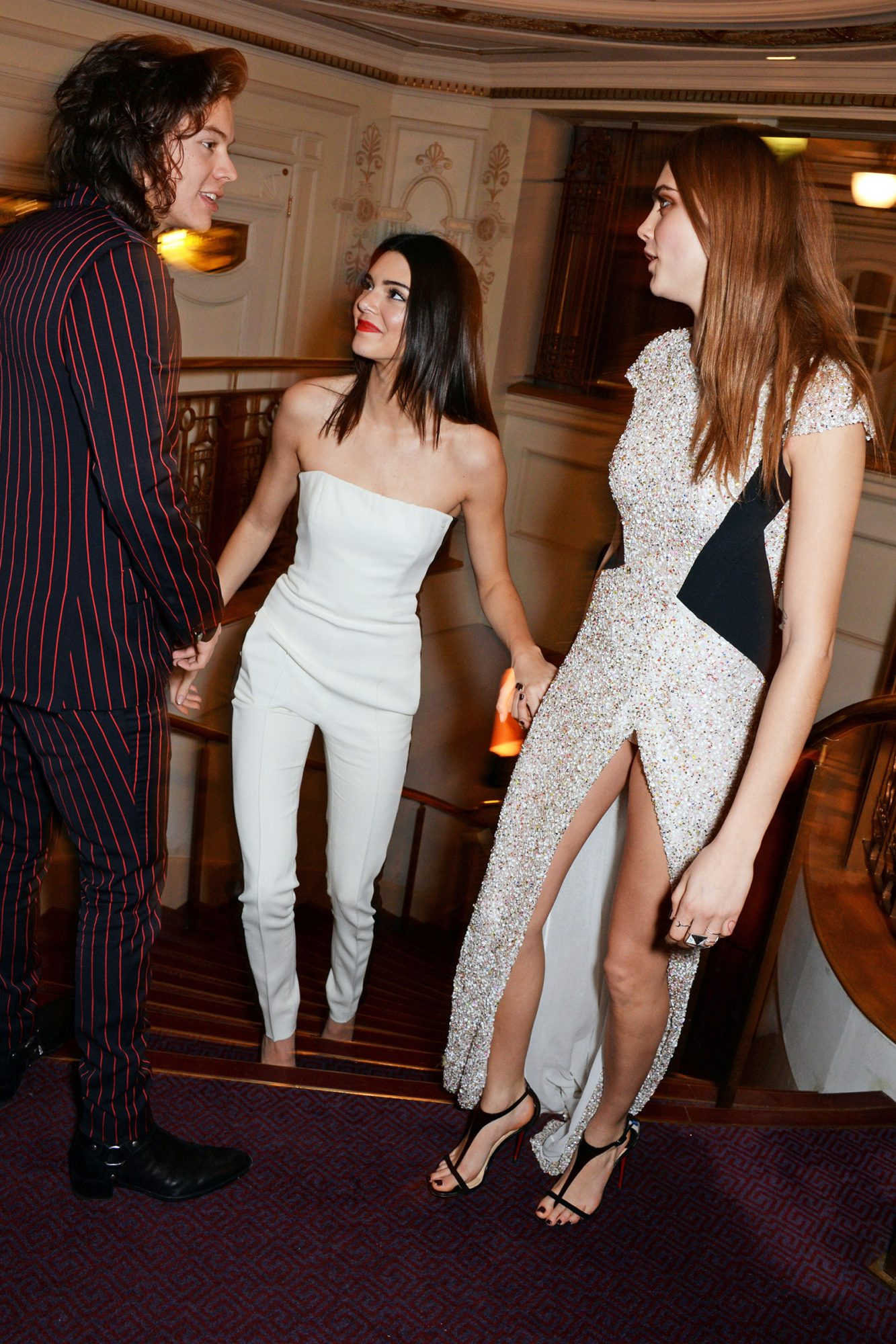 Harry Styles, Kendall Jenner and Model of the Year winner Cara Delevingne