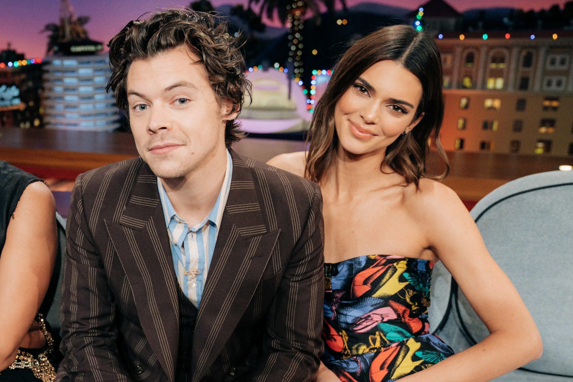 Harry Styles guest-hosts The Kendall Jenner Late Late Show with James Corden