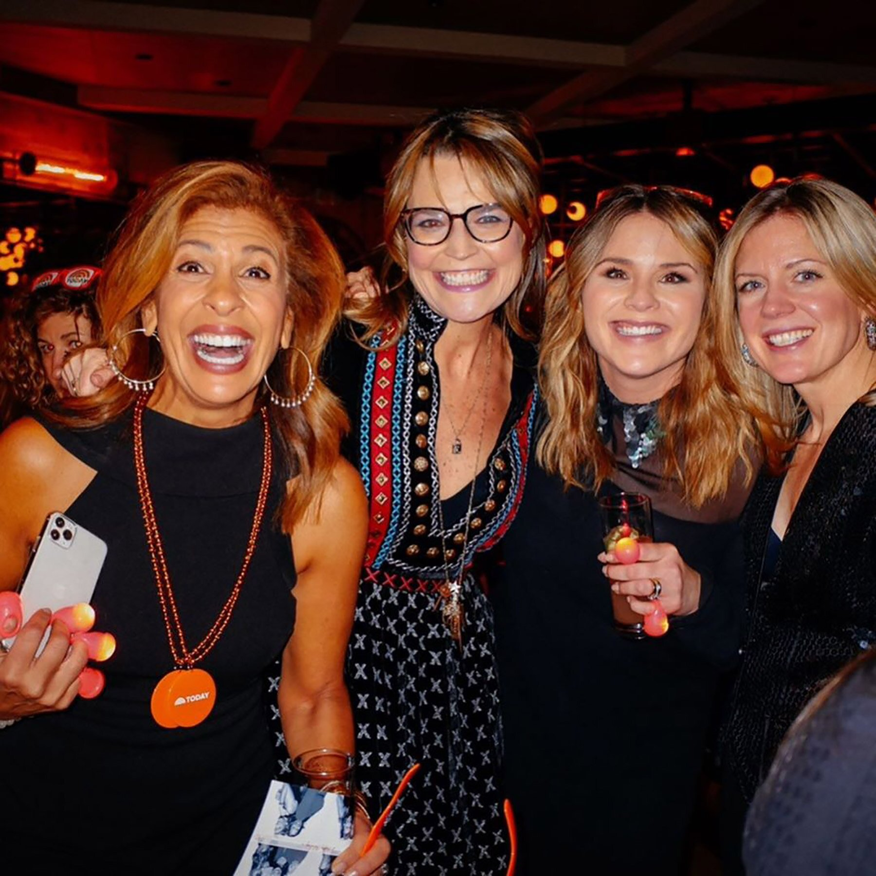 Savannah Guthrie Hits Today S Holiday Party After Eye Surgery People Com