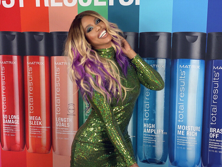 Laverne Cox for Matrix Total Results ; Photo cred: Ty Jennings, ShutterMIX