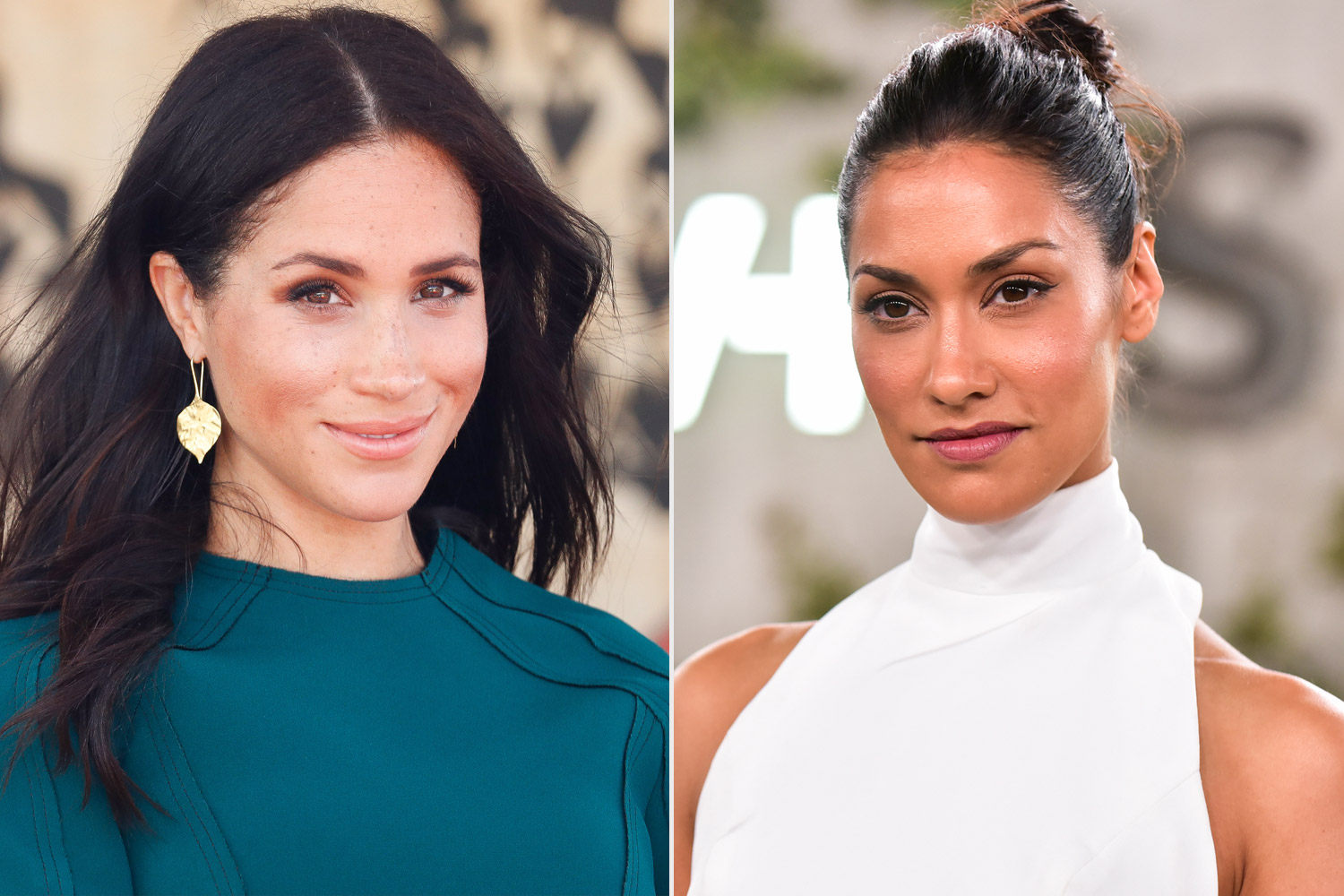 Meghan, Duchess of Sussex; Janina Gavankar
