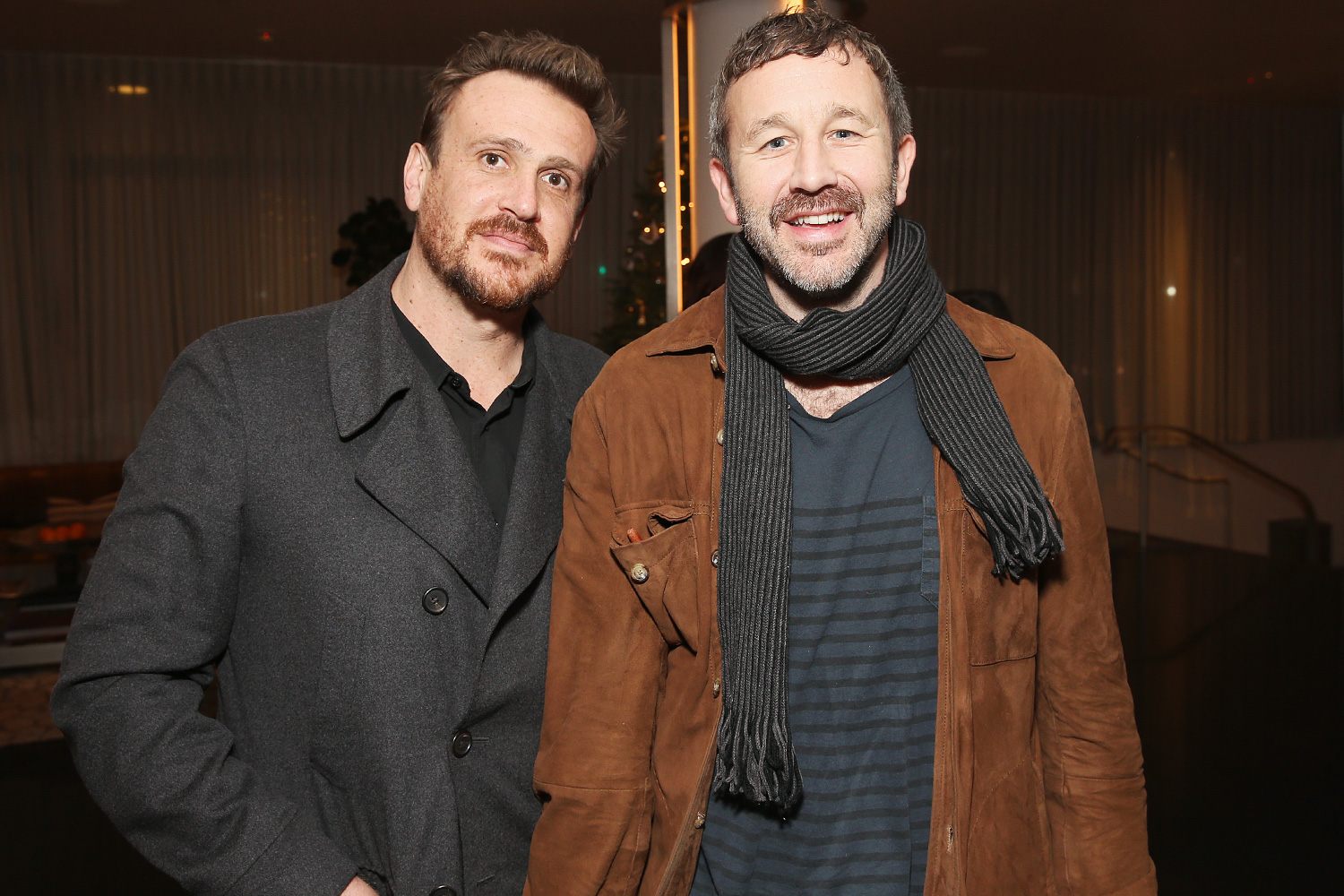 """Jason Segel and Chris O'Dowd attend the """"Dispatches from Elsewhere"""" - Tastemaker event on December 12, 2019 in Los Angeles, California"""