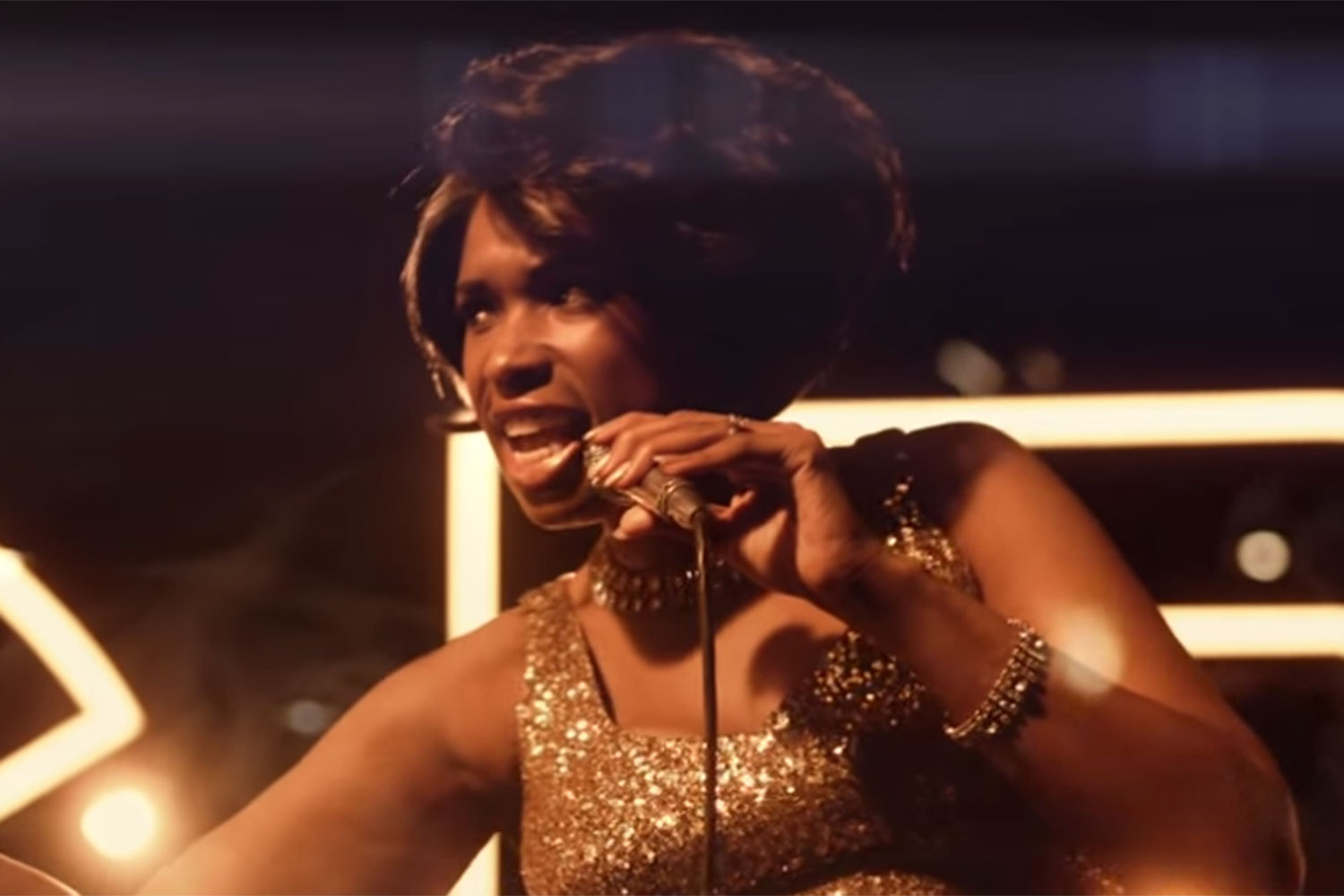 Jennifer Hudson is Aretha Franklin