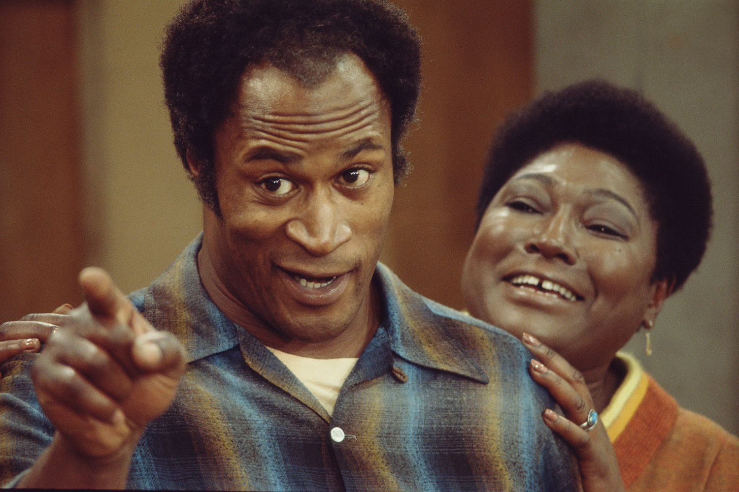 John Amos and Esther Rolle Good TImes