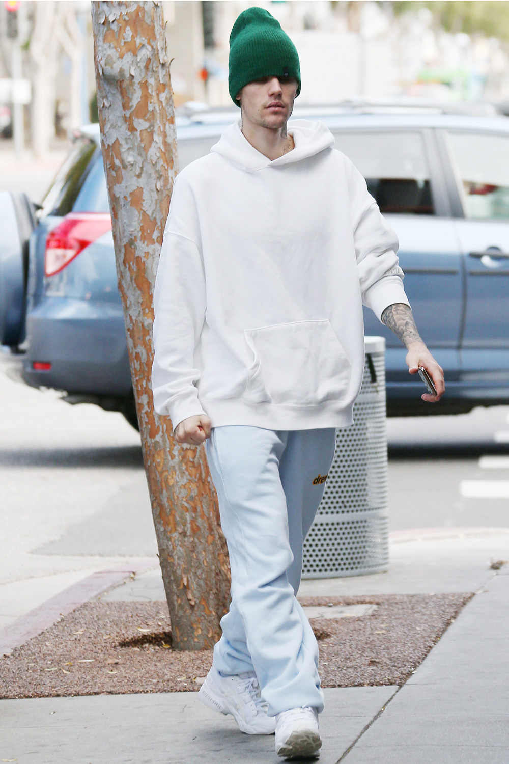 Justin Bieber out and about, Los Angeles, USA - 26 Dec 2019