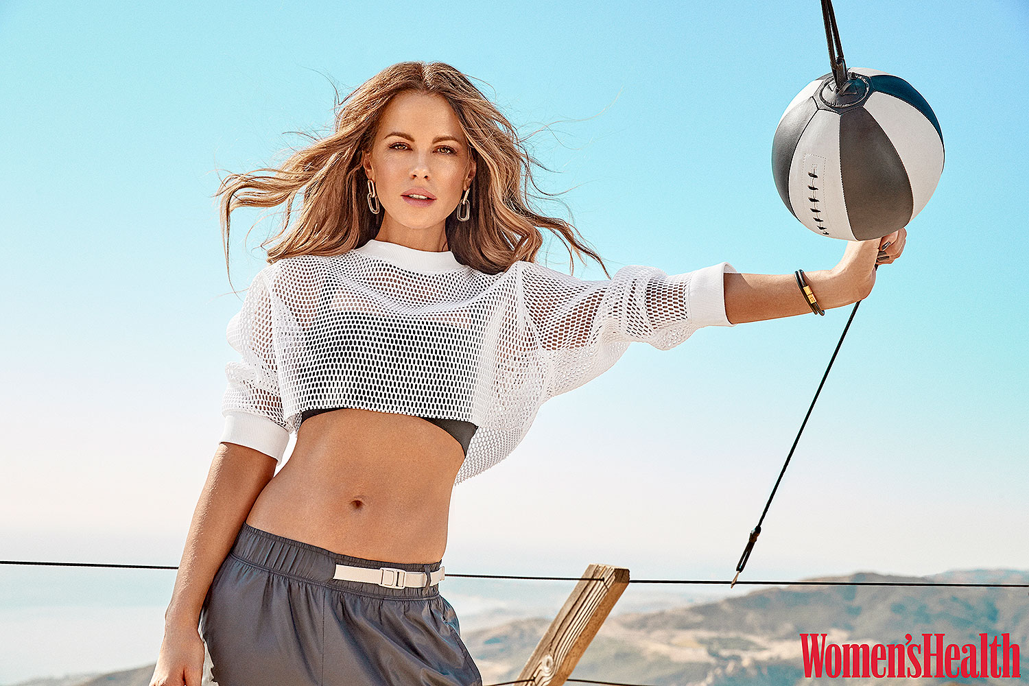 Kate Beckinsale Women's Health cover