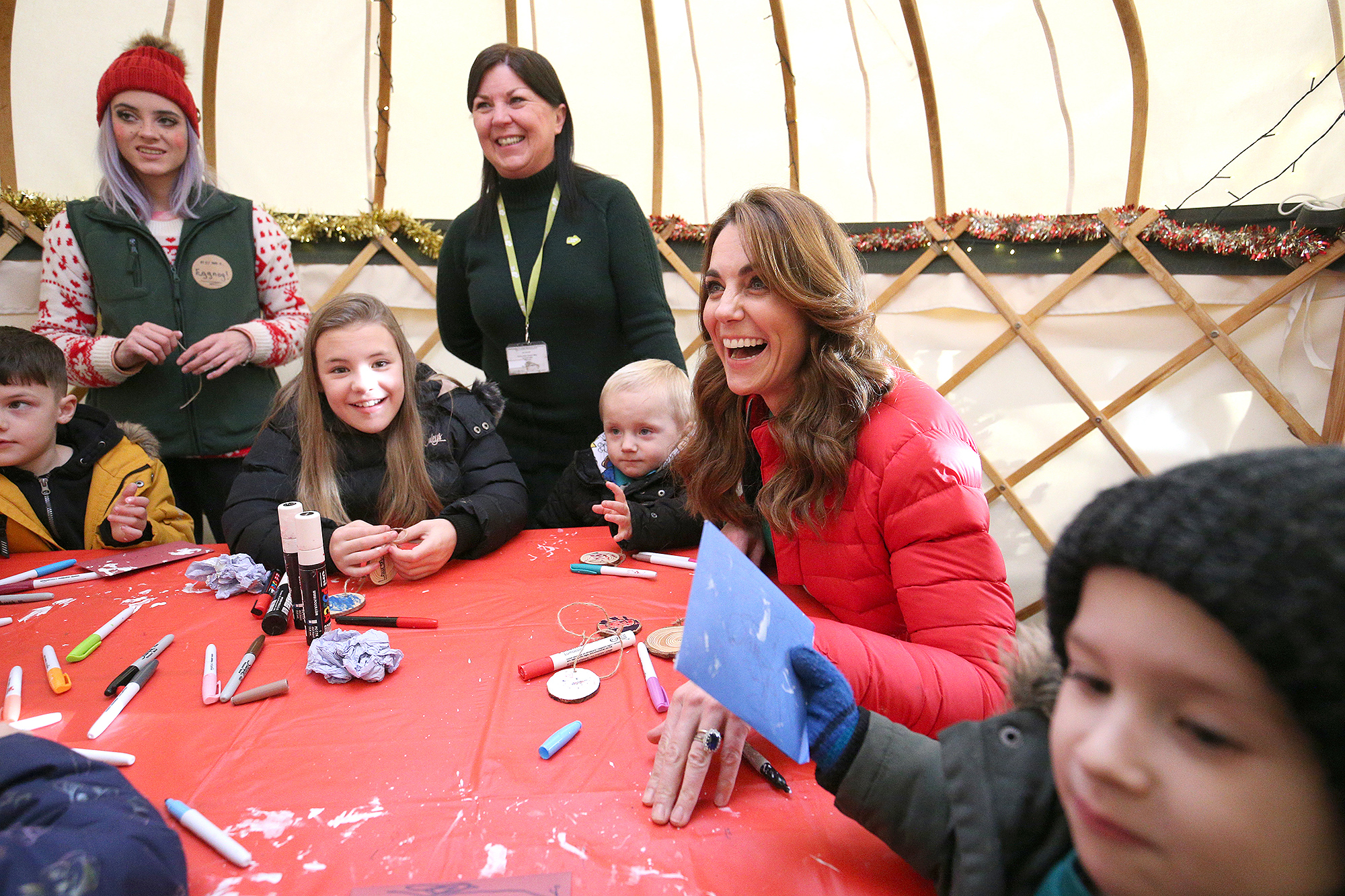 The Duchess Of Cambridge Joins Family Action To Mark New Patronage