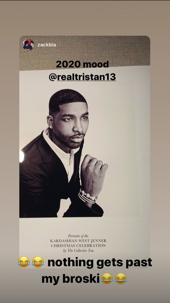 Tristan Thompson/Instagram