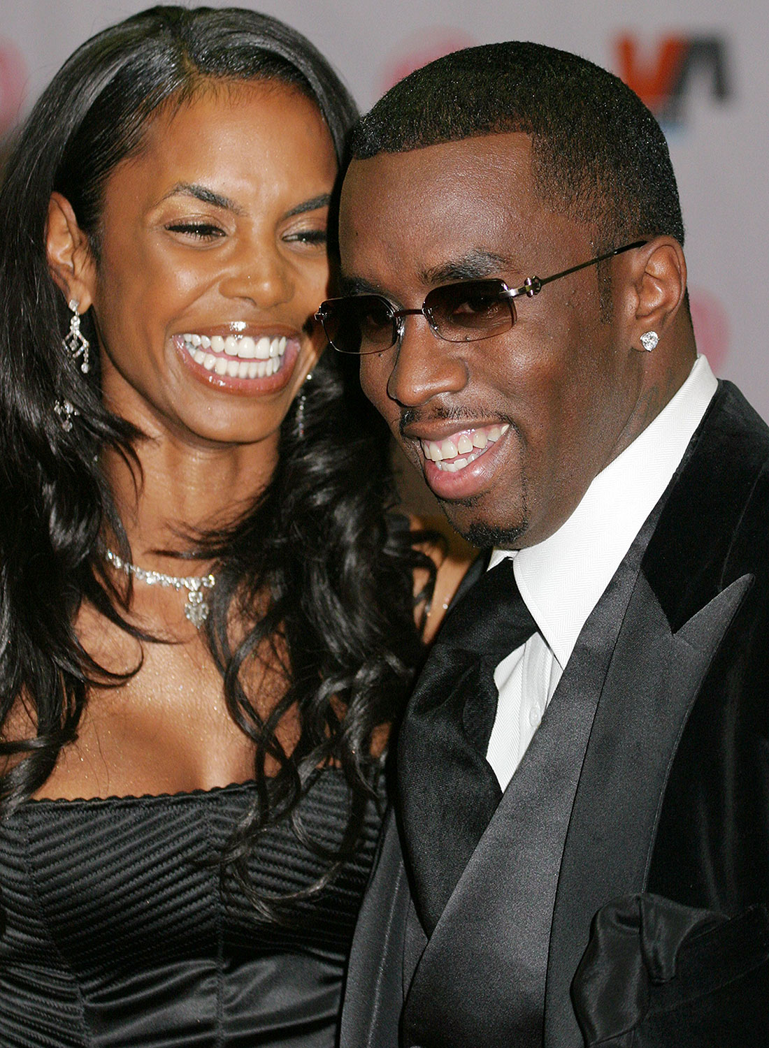 """Kim Porter and Sean """"P. Diddy"""" Combs"""