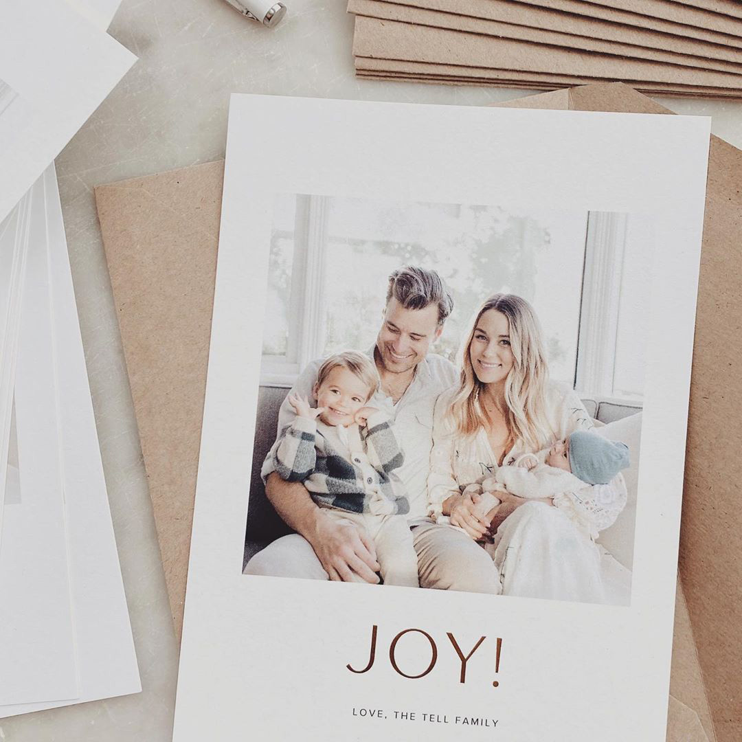 Lauren Conrad Christmas Card