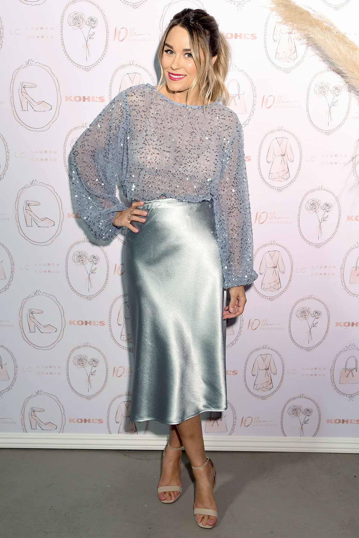 Lauren Conrad Celebrates Her 10th Anniversary Collection At Kohl's