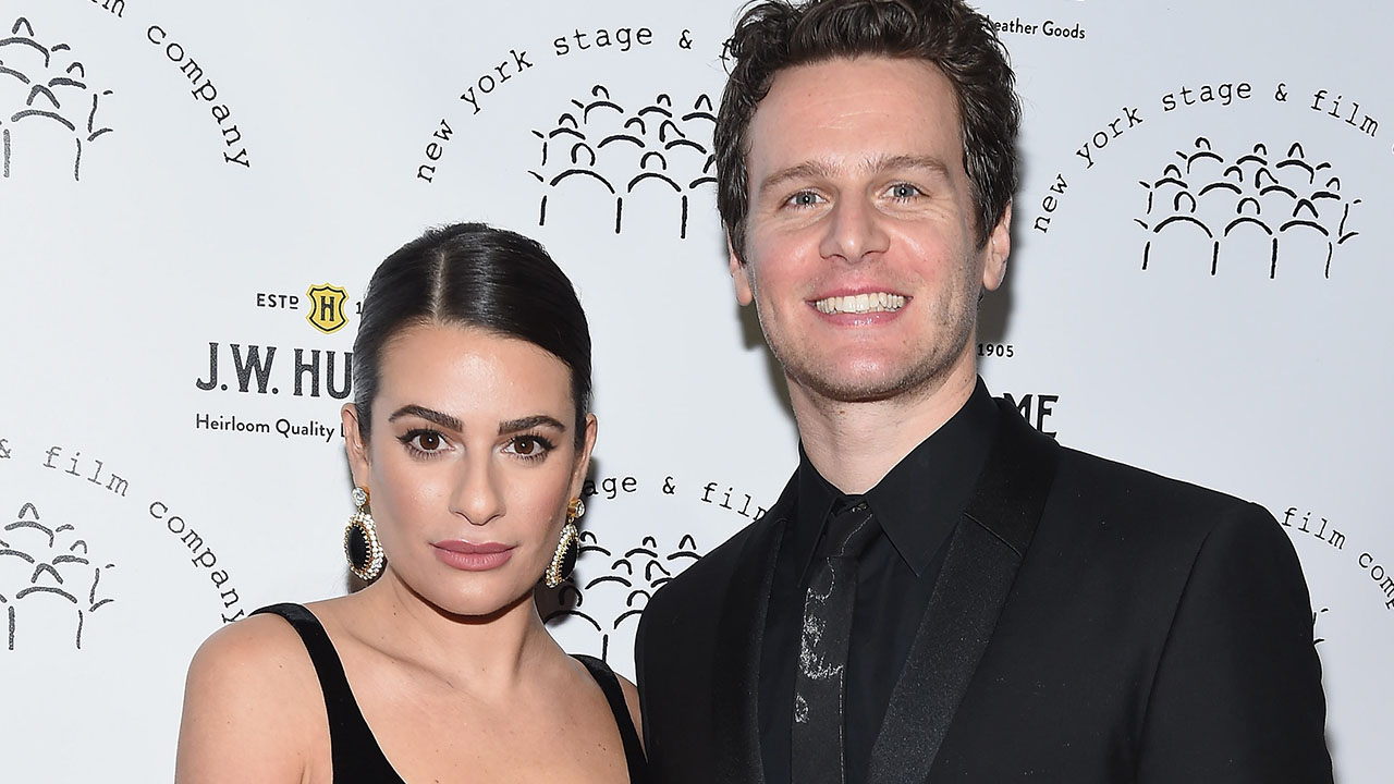 Lea Michele Says Jonathan Groff's 'Matrix 4' Role Has Been a 'Hard Secret For Me To Keep'