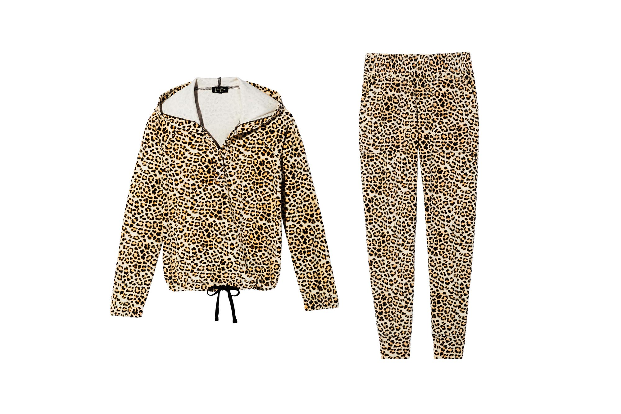 leopard print outfit by JESSICA SIMPSON