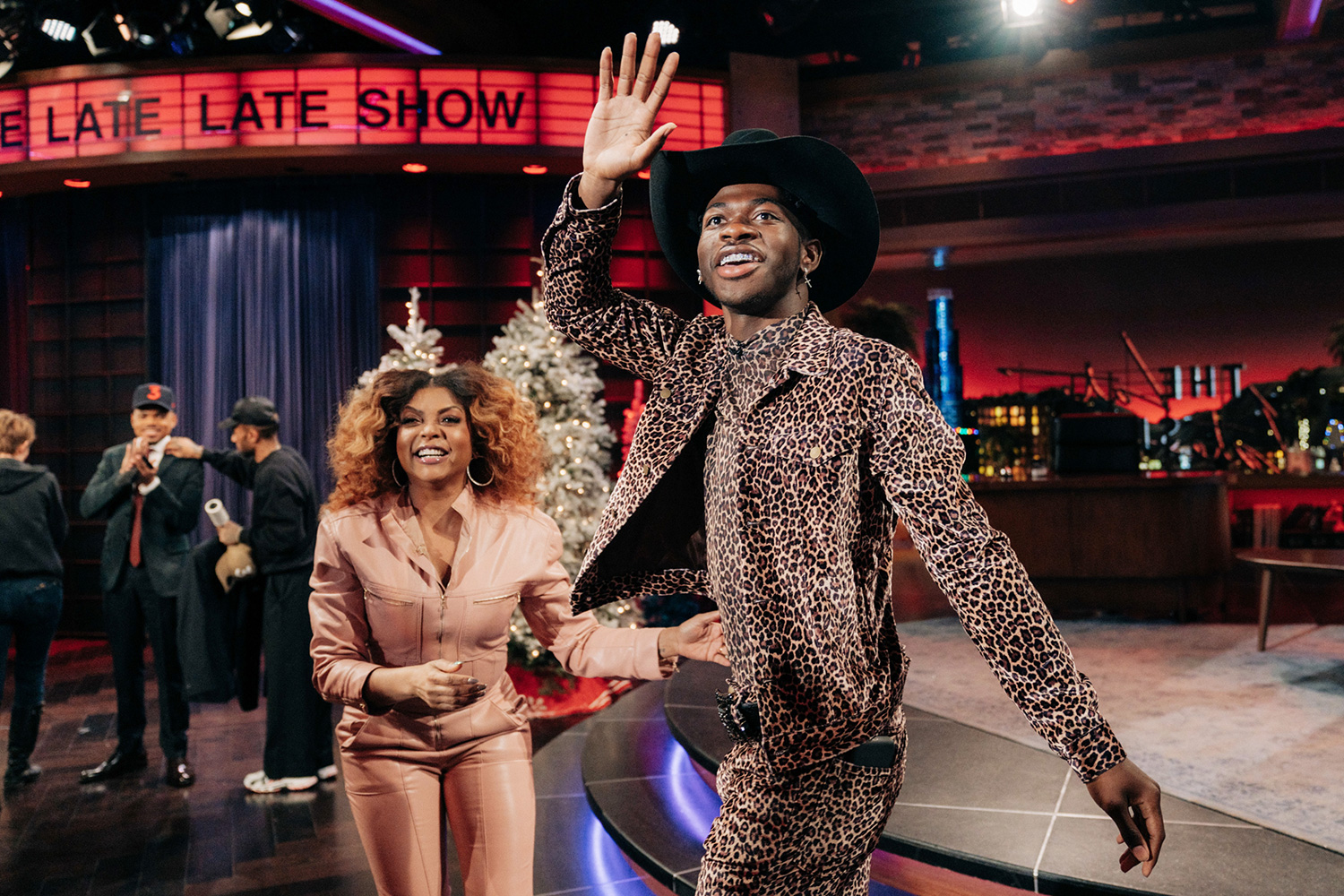 Chance the Rapper guest-hosts The Late Late Show with James Corden airing Monday, December 16, 2019, with guests Taraji P. Henson, Lil Nas X,