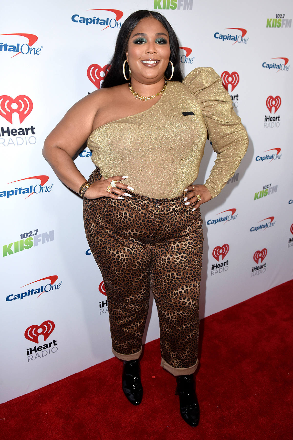 Lizzo attends 102.7 KIIS FM's Jingle Ball 2019 Presented by Capital One at the Forum on December 6, 2019