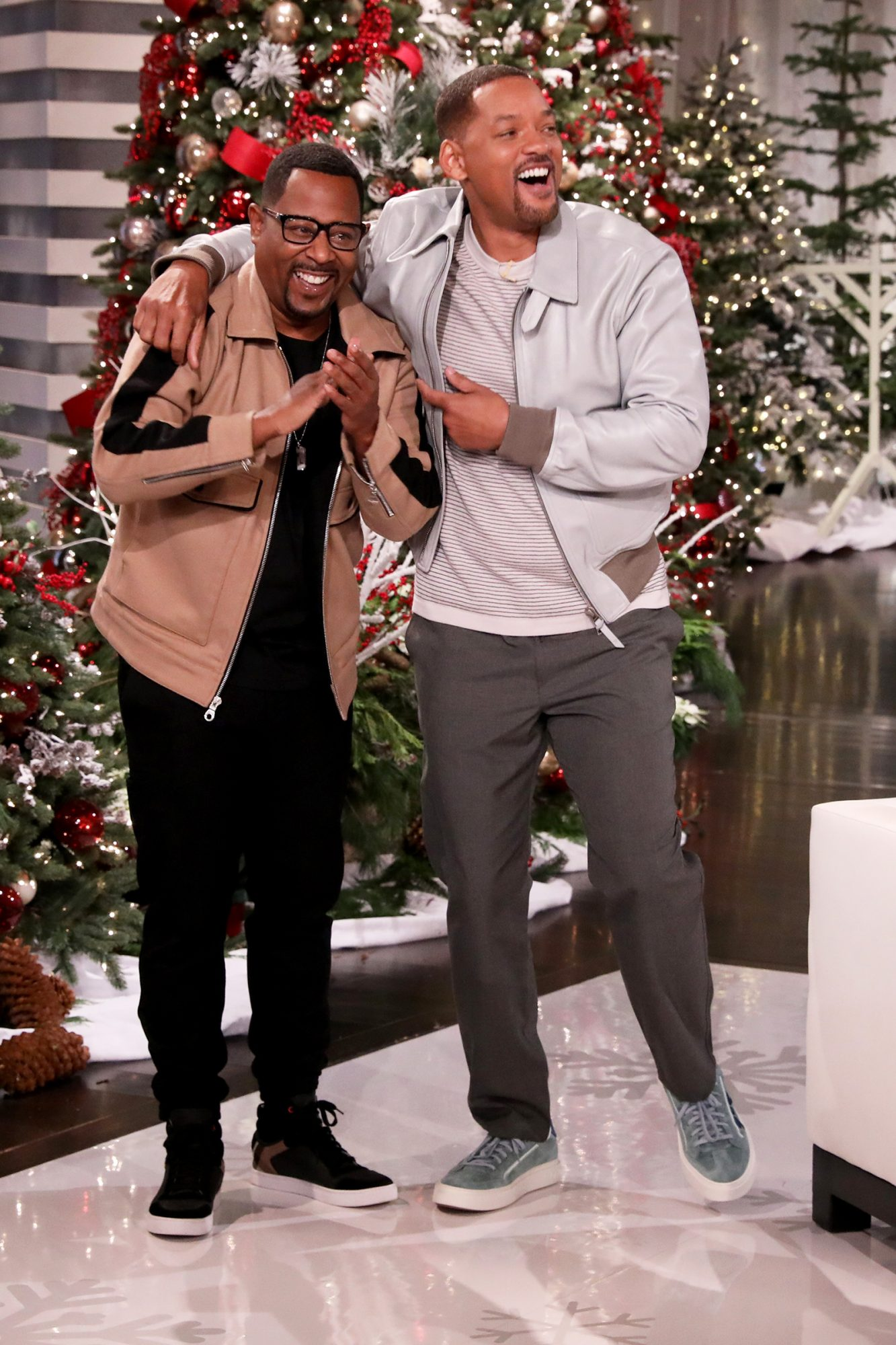 """""""Bad Boys for Life"""" co-stars Will Smith and Martin Lawrence make an appearance on """"The Ellen DeGeneres Show"""" airing Wednesday, December 4th"""
