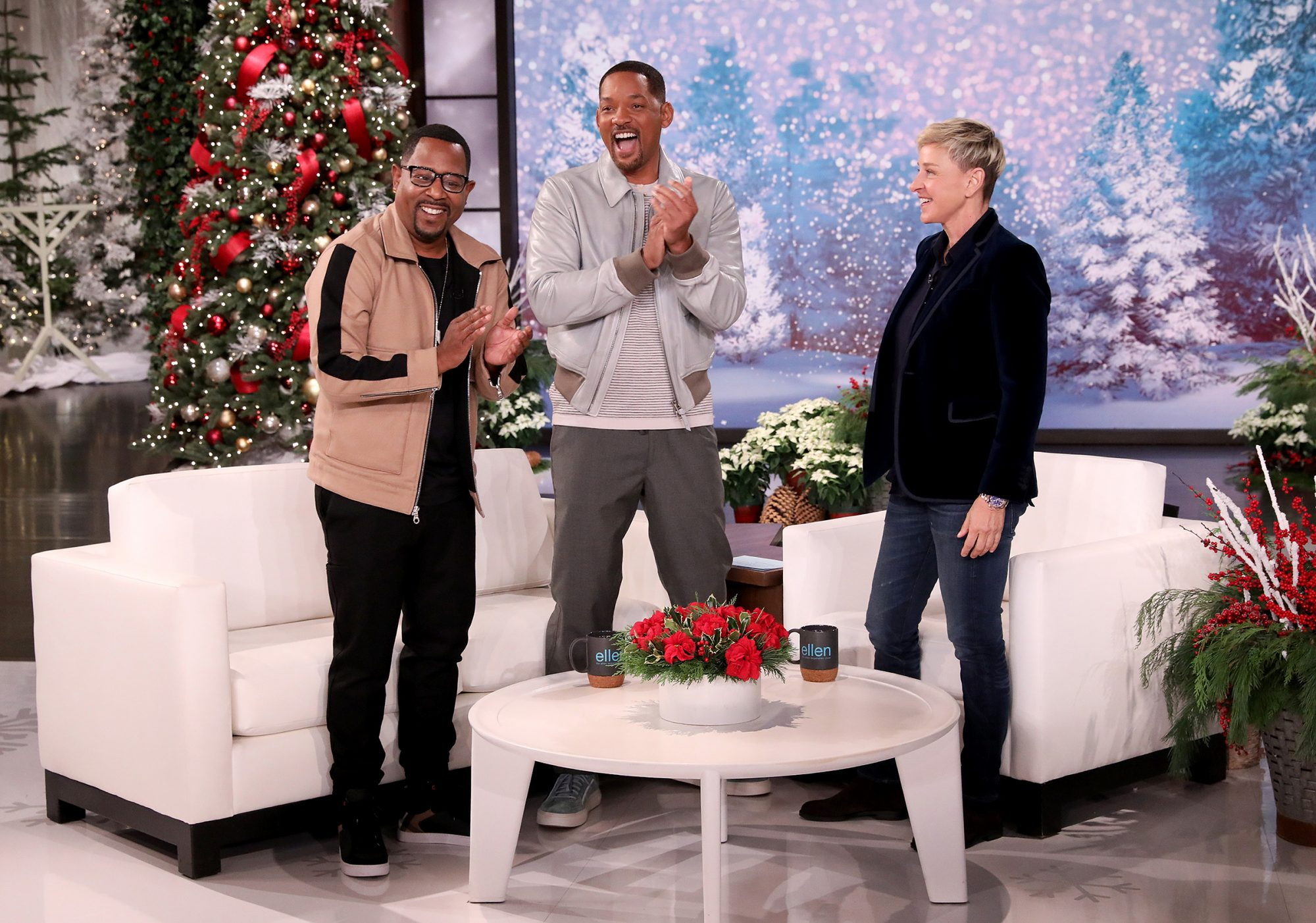 Will Smith, Martin Lawrence on Ellen