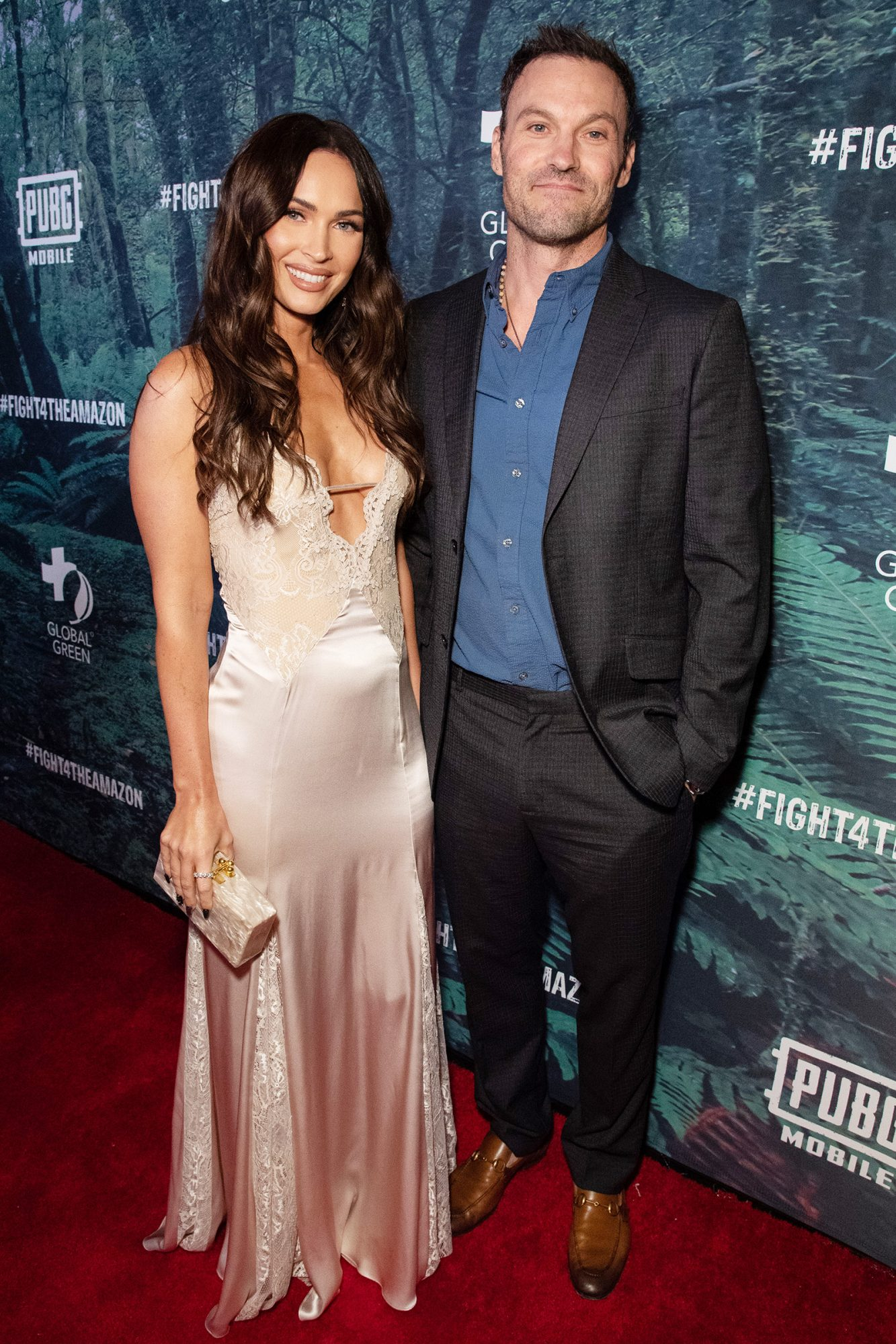 Megan Fox and Brian Austin Green PUBG Mobile's #FIGHT4THEAMAZON Event, Los Angeles, USA - 09 Dec 2019