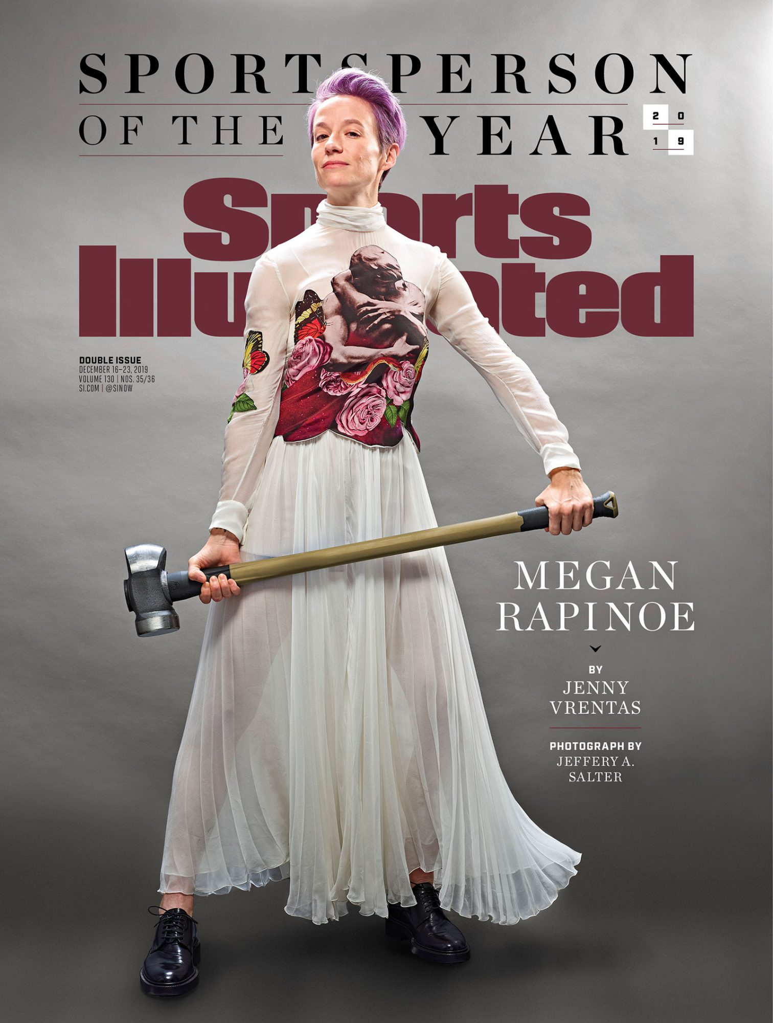 Megan Rapinoe Sports Illustrated Sportsperson of the Year