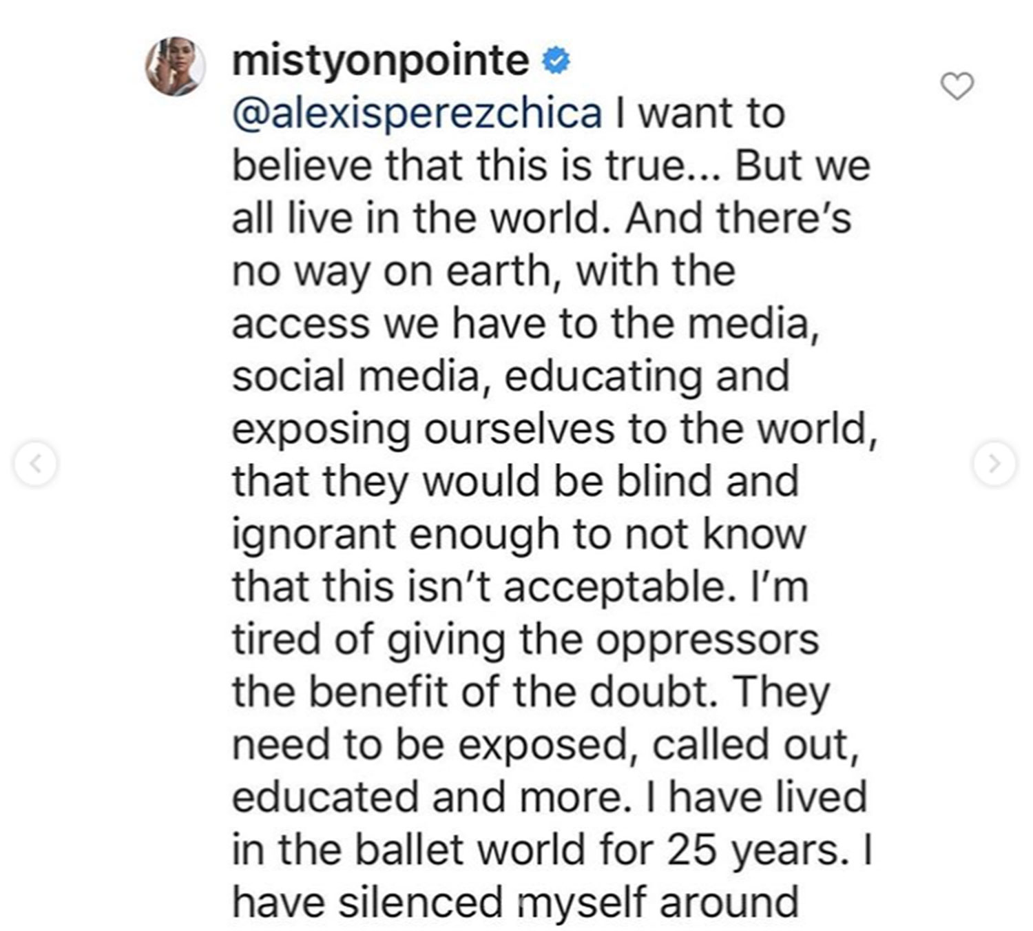Misty Copeland Calls Out Russian Ballet Company for Blackface