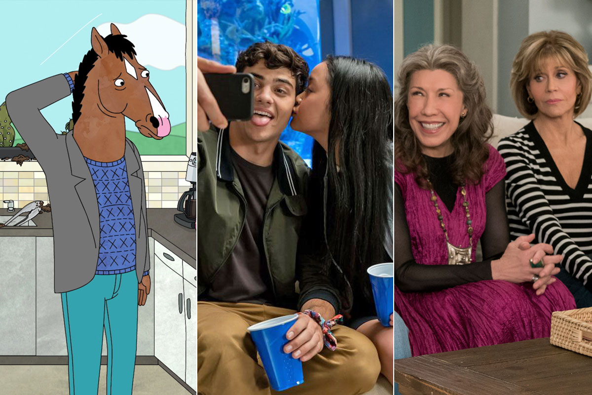 BoJack Horseman, To All The Boys Sequel, and Gracie and Frankie